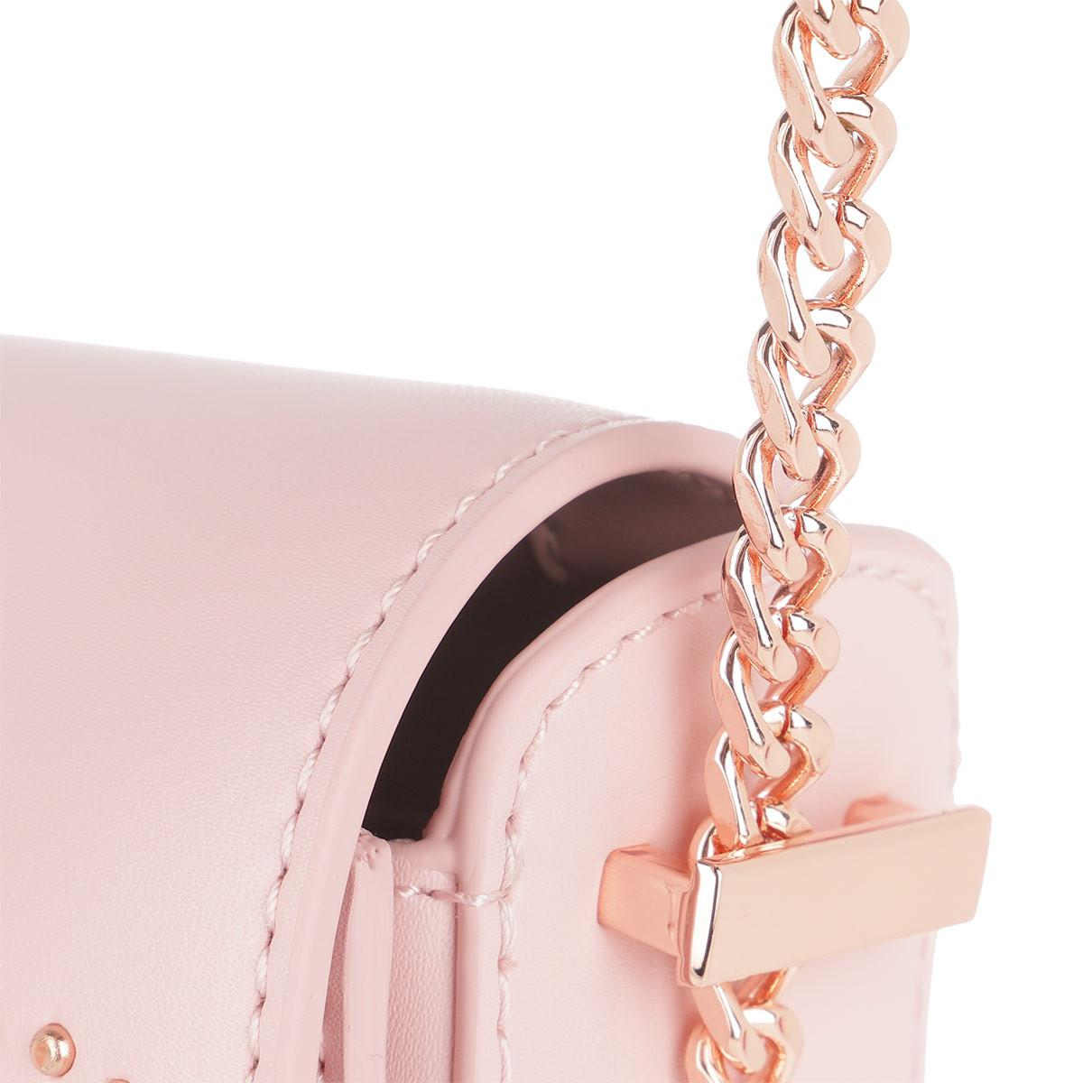 aa831a9b7f Ted Baker Susy Soft Blossom Moon Bag Light Pink in Pink - Lyst