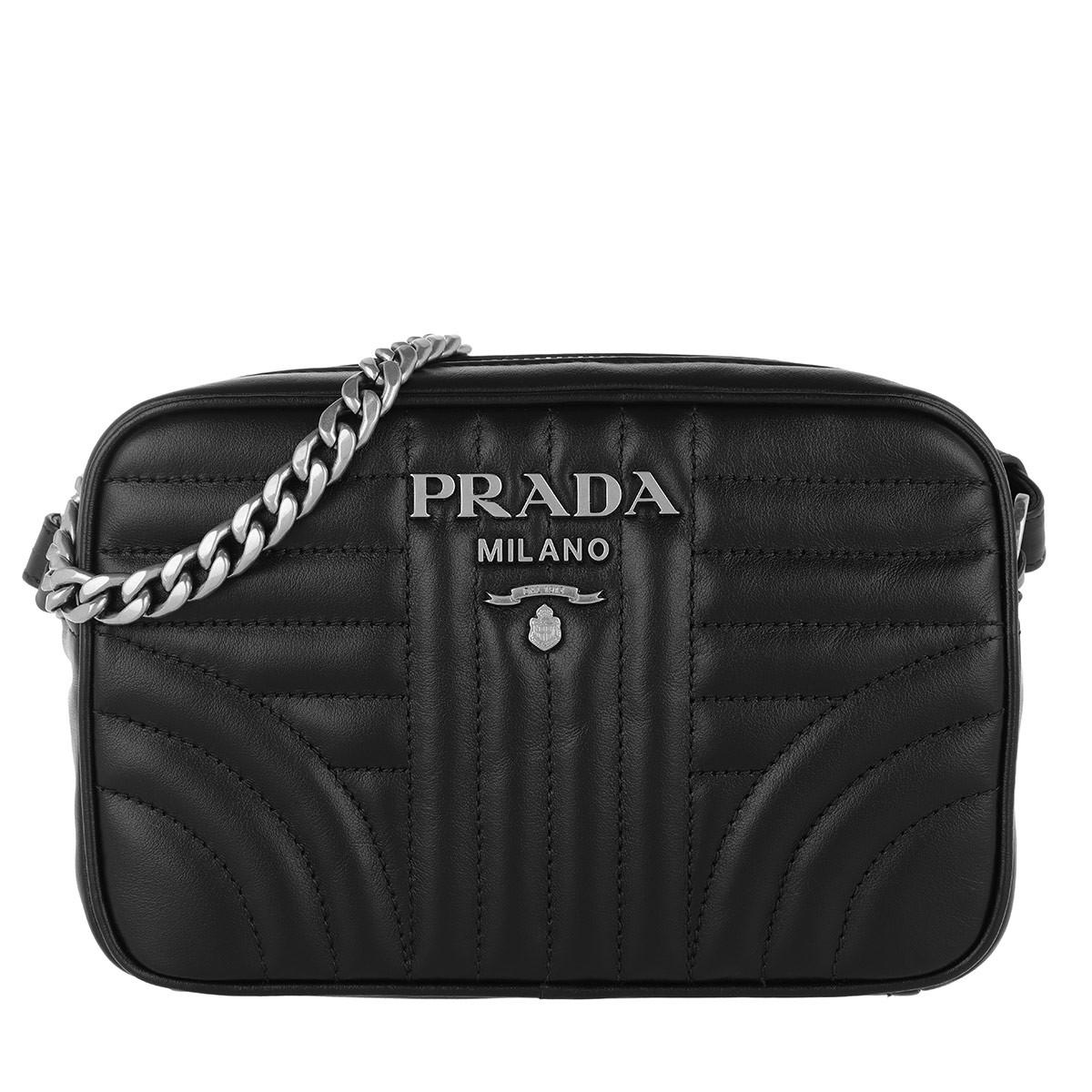 af6721454512 Prada Diagramme Large Camera Bag Black2 in Black - Save 30% - Lyst