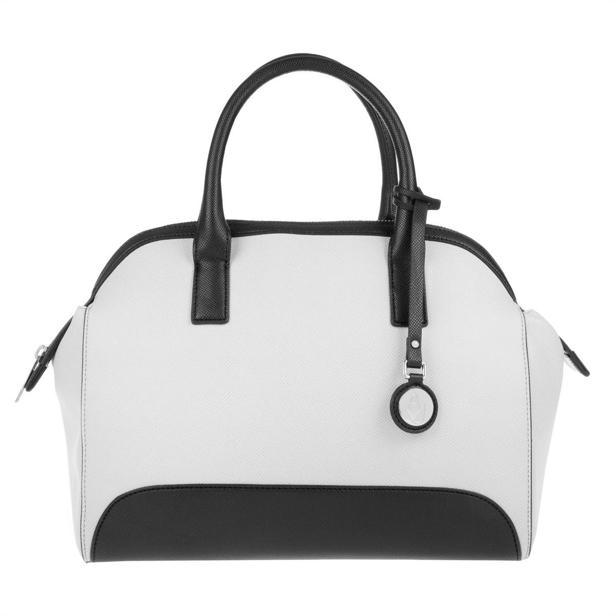 1f32682d7080 Armani Jeans Woman Pvc plastic Top Handle Bag Bianco-white in White ...