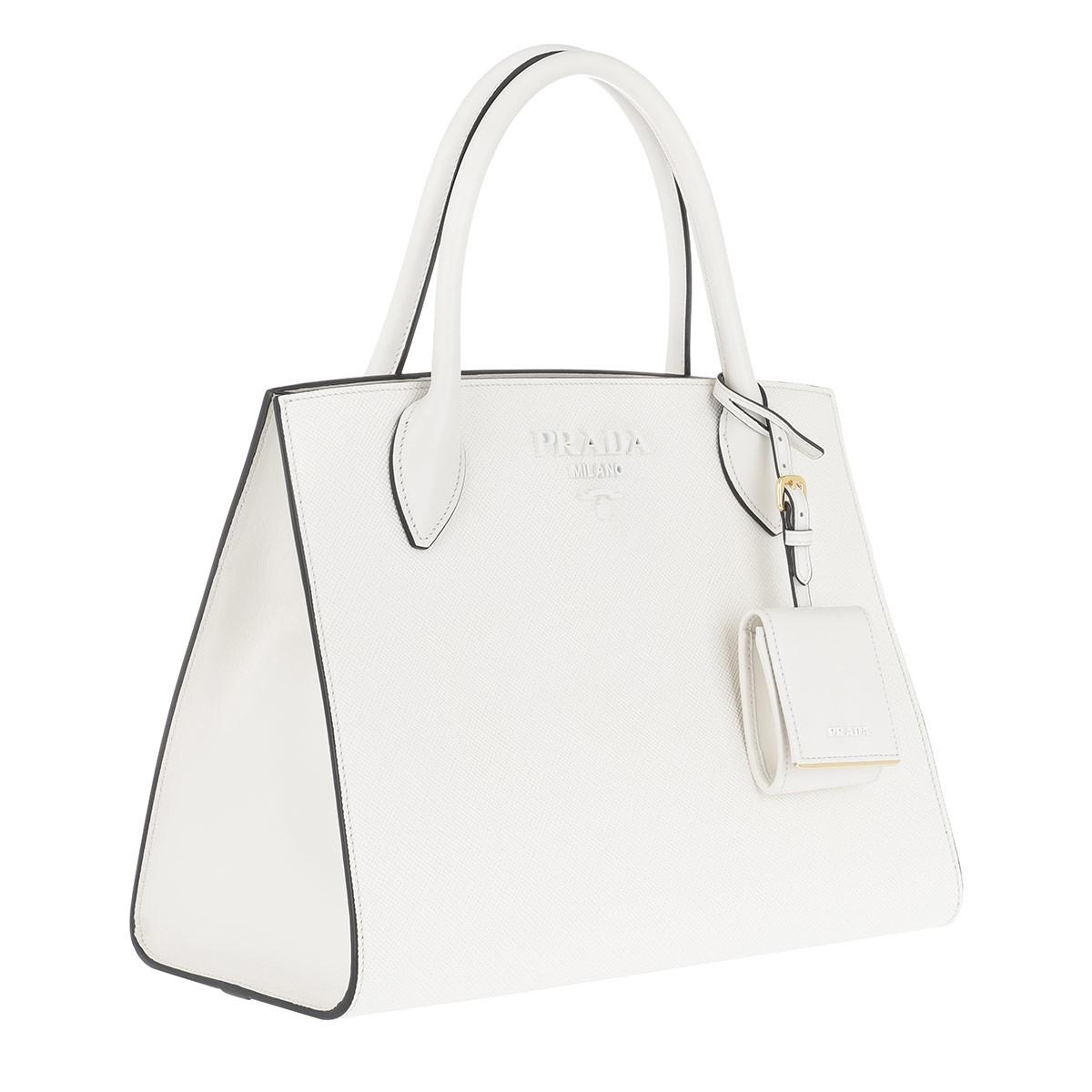Tote - Monochrome Tote Bag Cipria - beige - Tote for ladies Prada M61xkHFgB1