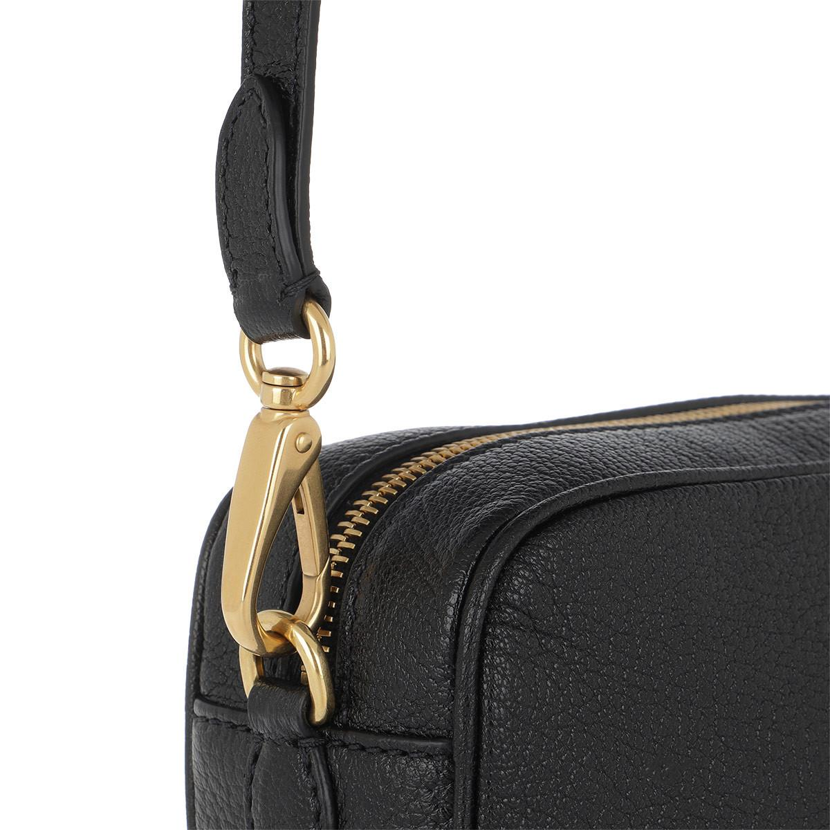 Miu Miu Madras Camera Bag Bow Nero in Black - Lyst 89c0b2a8aeaef