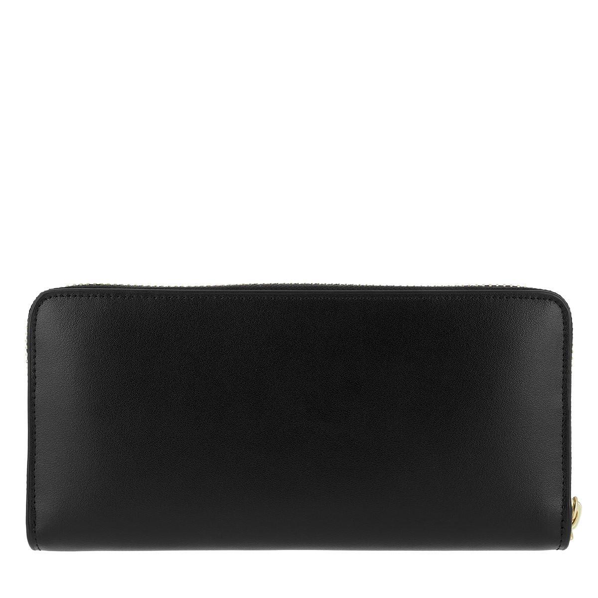 9f174a741 Ted Baker Emblyn Bow Sunken Zip Wallet Black in Black - Lyst