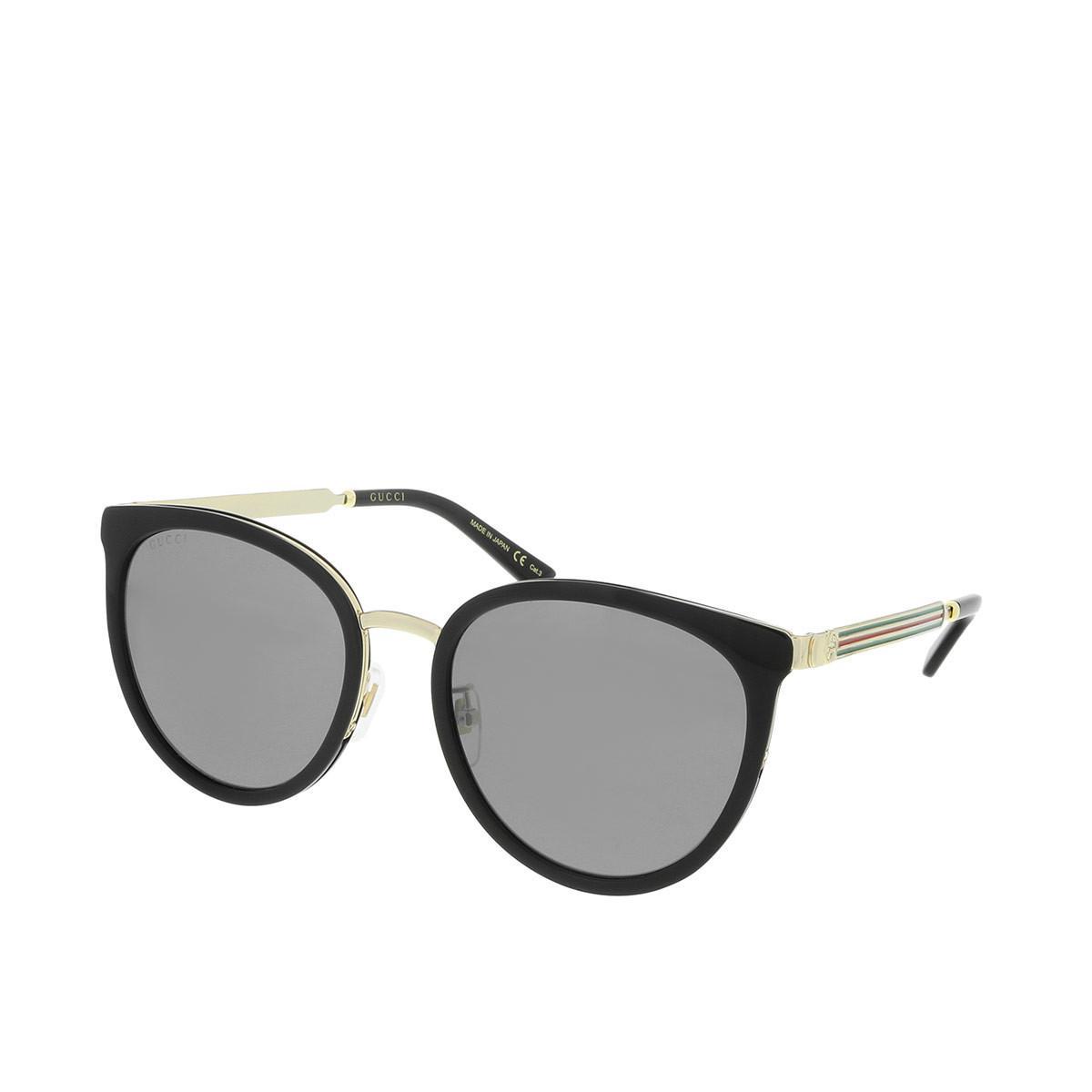 145851f843 Gucci - Black GG0077SK 006 56 - Lyst. View fullscreen