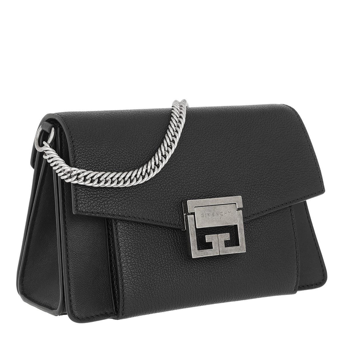 093d36fcb968 Givenchy - Gv3 Nano Crossbody Bag Leather Black - Lyst. View fullscreen