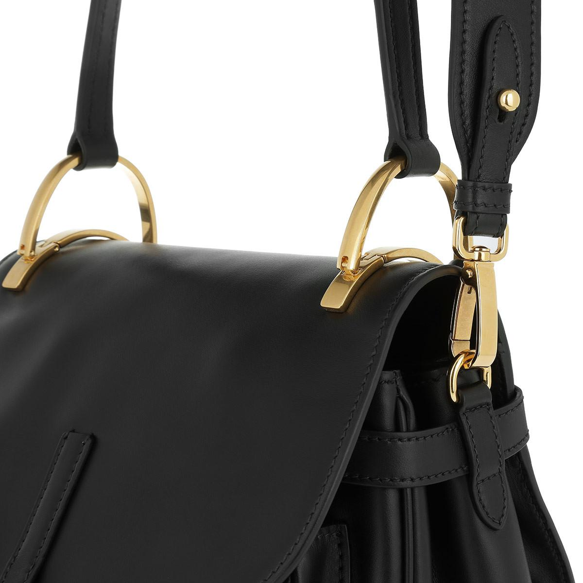 dda04b98d2e5 Prada Corsaire Satchel Bag Nero in Black - Lyst
