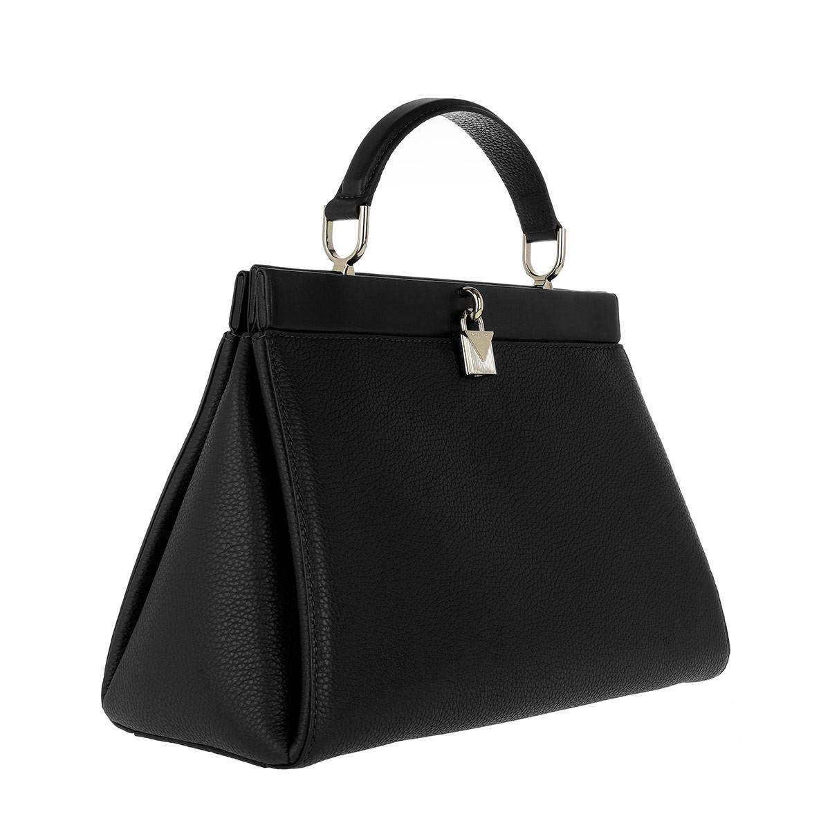Womens Gramcery Lg Th Satchel Top-Handle Bag Black (Black) Michael Kors fPviCf0