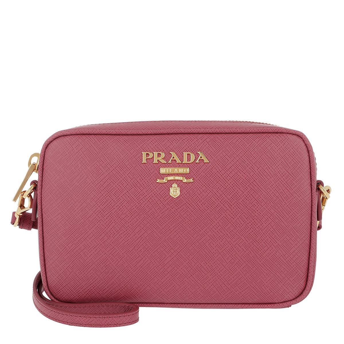 d7d36e28db9a ... reduced prada camera bag crossbody saffiano leather bruyere lyst a4e7f  7a6e9 ...