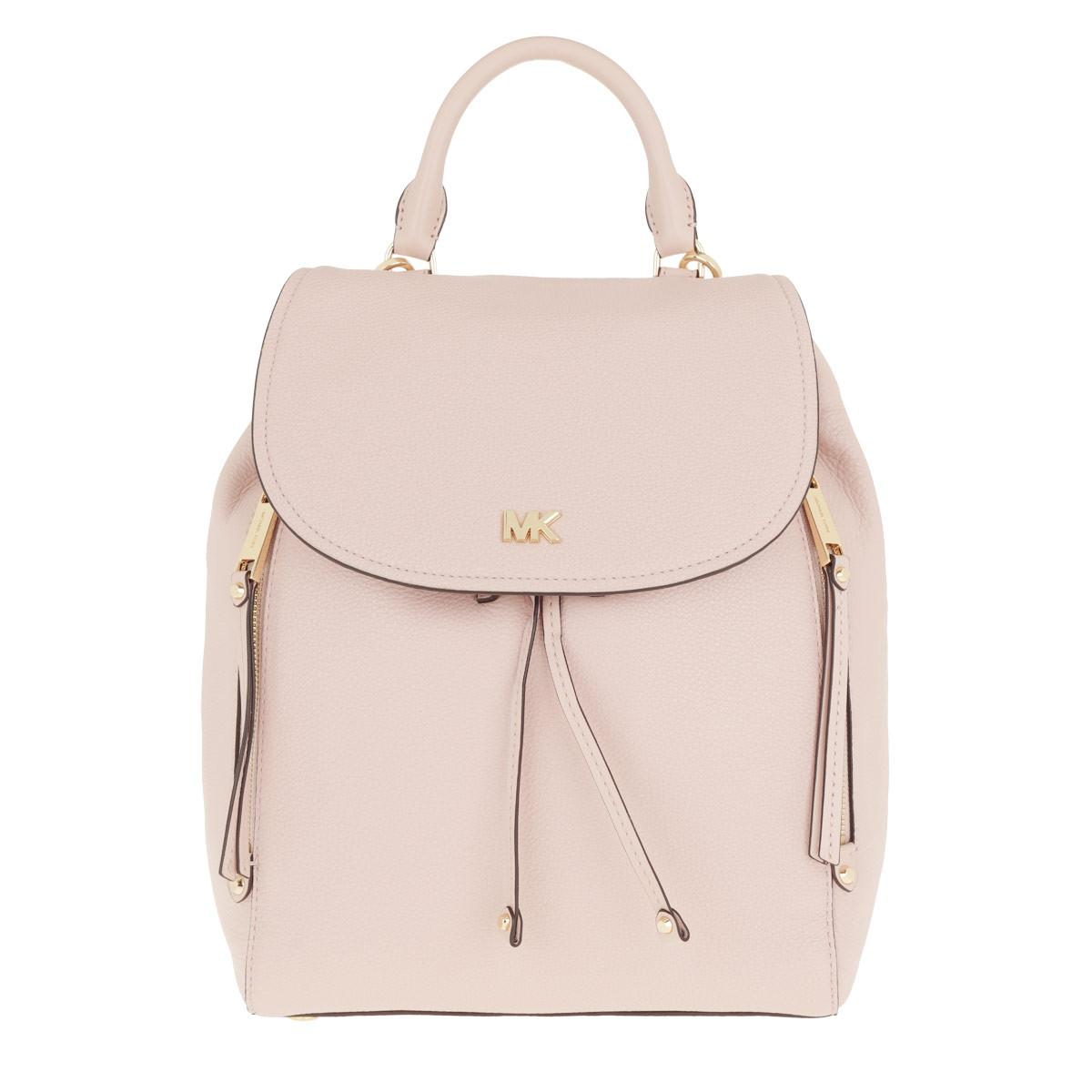 a345ed8a5f51 Michael Kors Evie Medium Backpack Soft Pink in Pink - Lyst