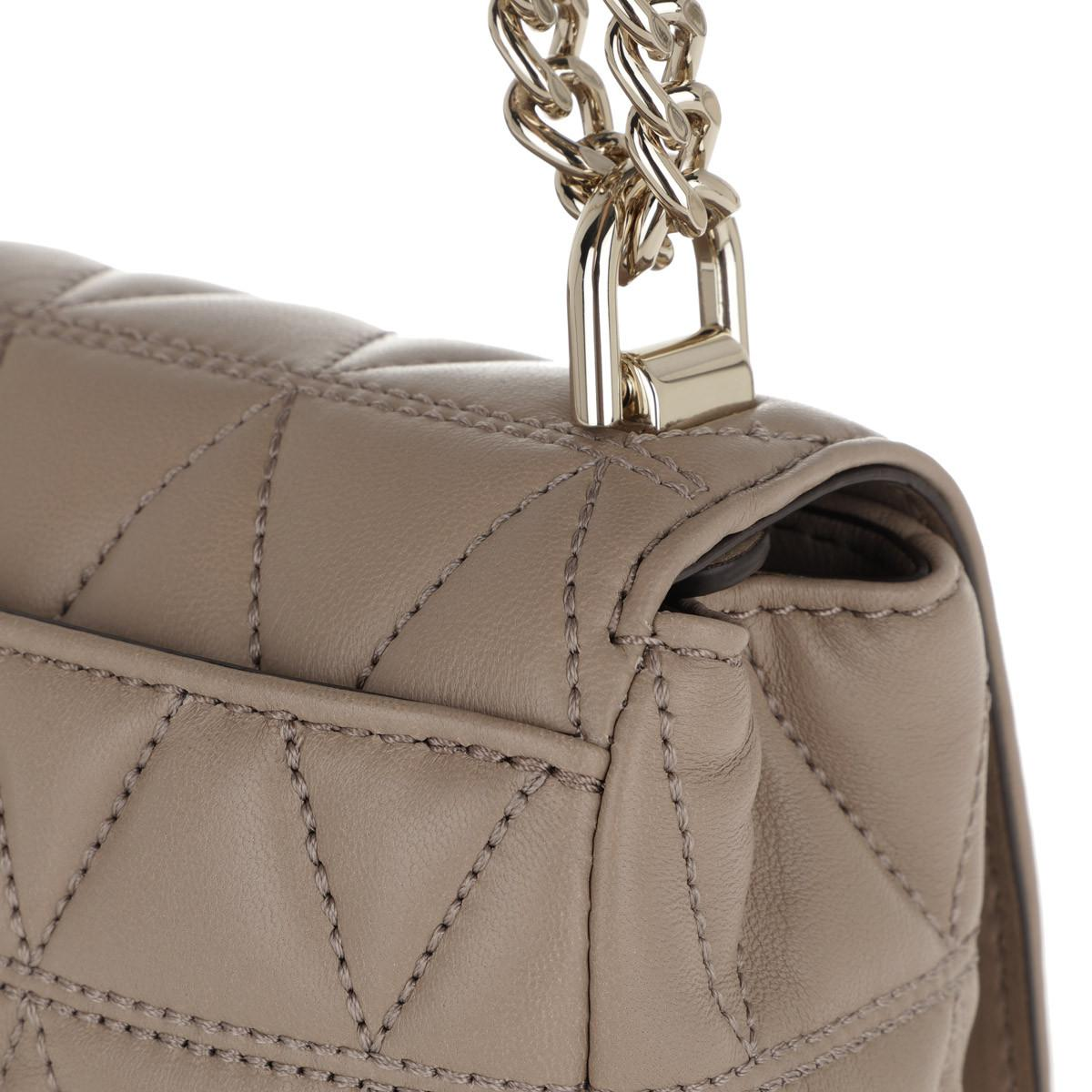 f21e44a5a31b Michael Kors - Natural Sloan Lg Chain Shoulder Bag Truffle - Lyst. View  fullscreen