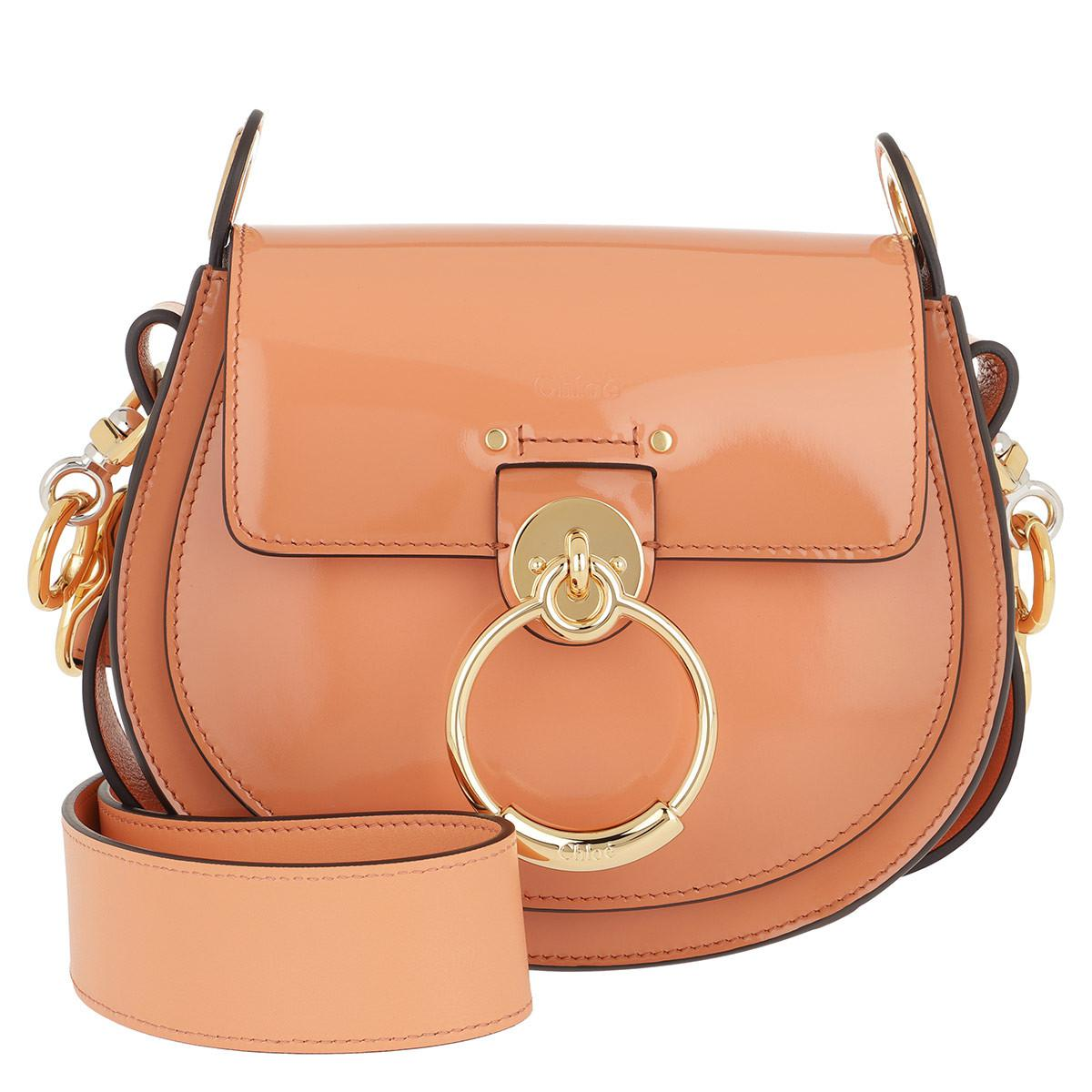 4c8c2b1bf3 Chloé Tess Shoulder Bag Small Leather Canyon Sunset - Lyst