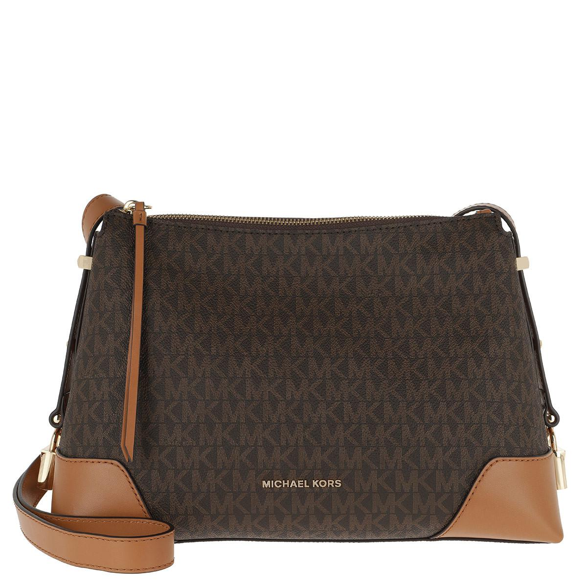 a96ae3e009c37d Michael Kors - Crosby Md Messenger Bag Brown/acorn - Lyst. View fullscreen