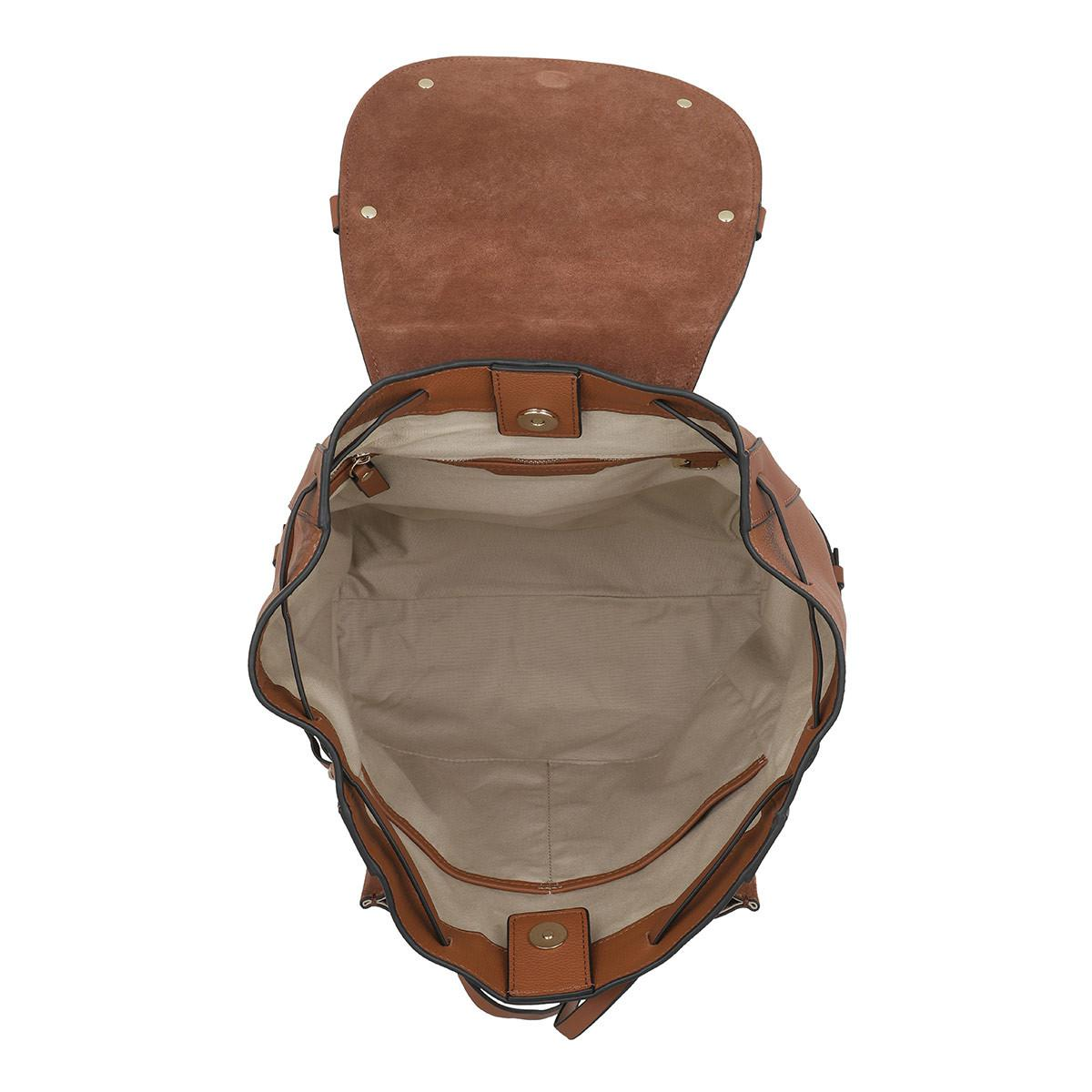 b9ab5c27963 Liebeskind Berlin - Brown New Saddle Backpack Medium Bourbon - Lyst. View  fullscreen