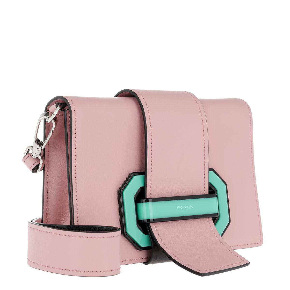b497a116ea ... usa prada plex ribbon crossbody bag rose multi in pink lyst 7193f 89087