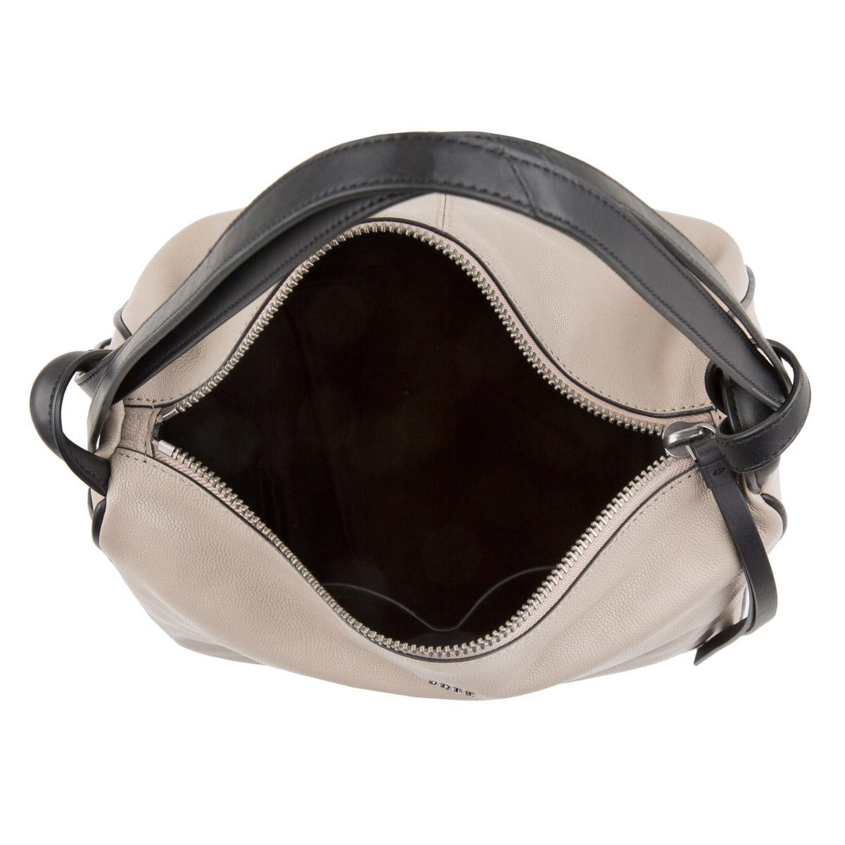 Dkny Hybrid Slouch Medium Hobo Soft Clay-black in White - Lyst bef386f598814