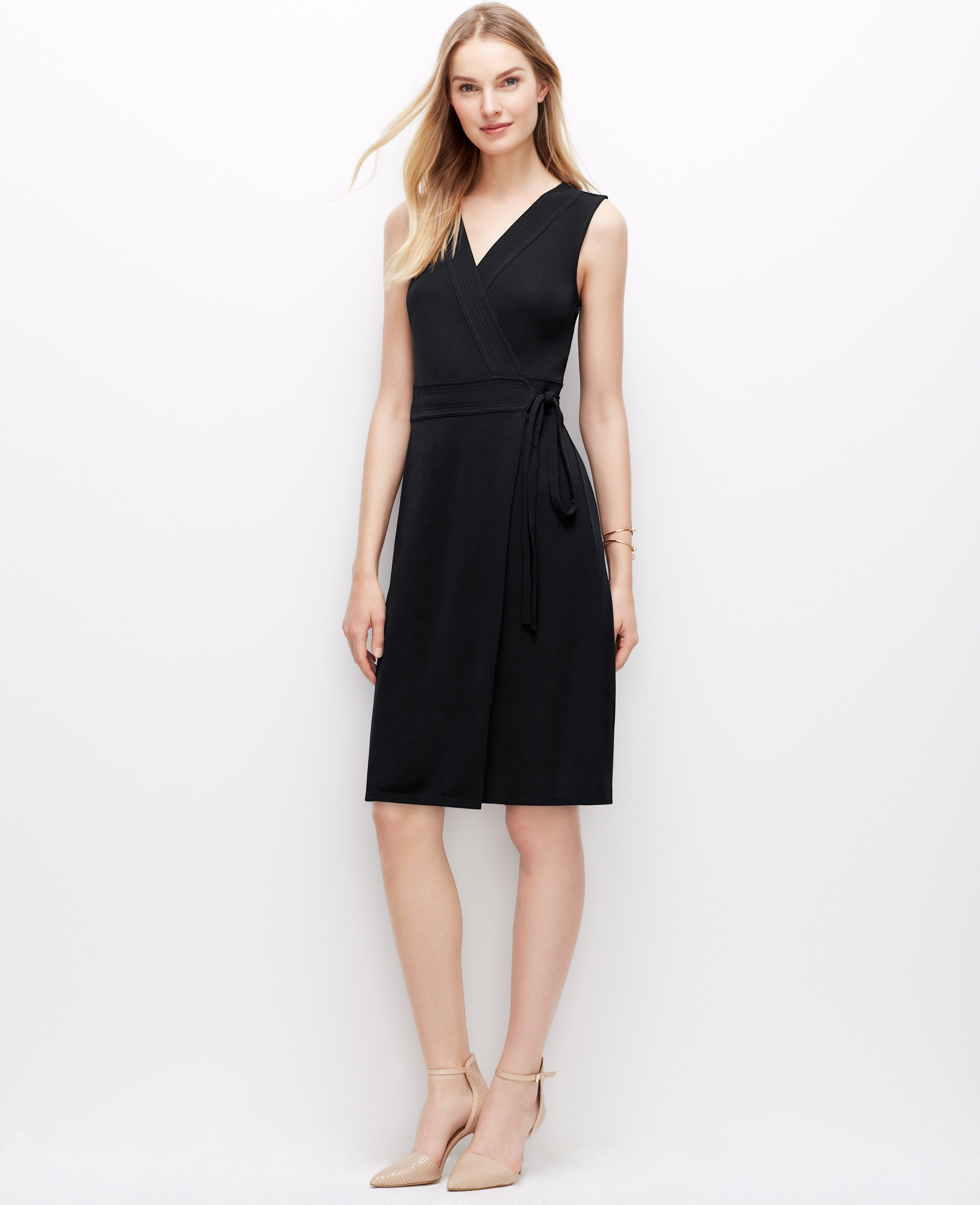 Sleeveless Wrap Dresses