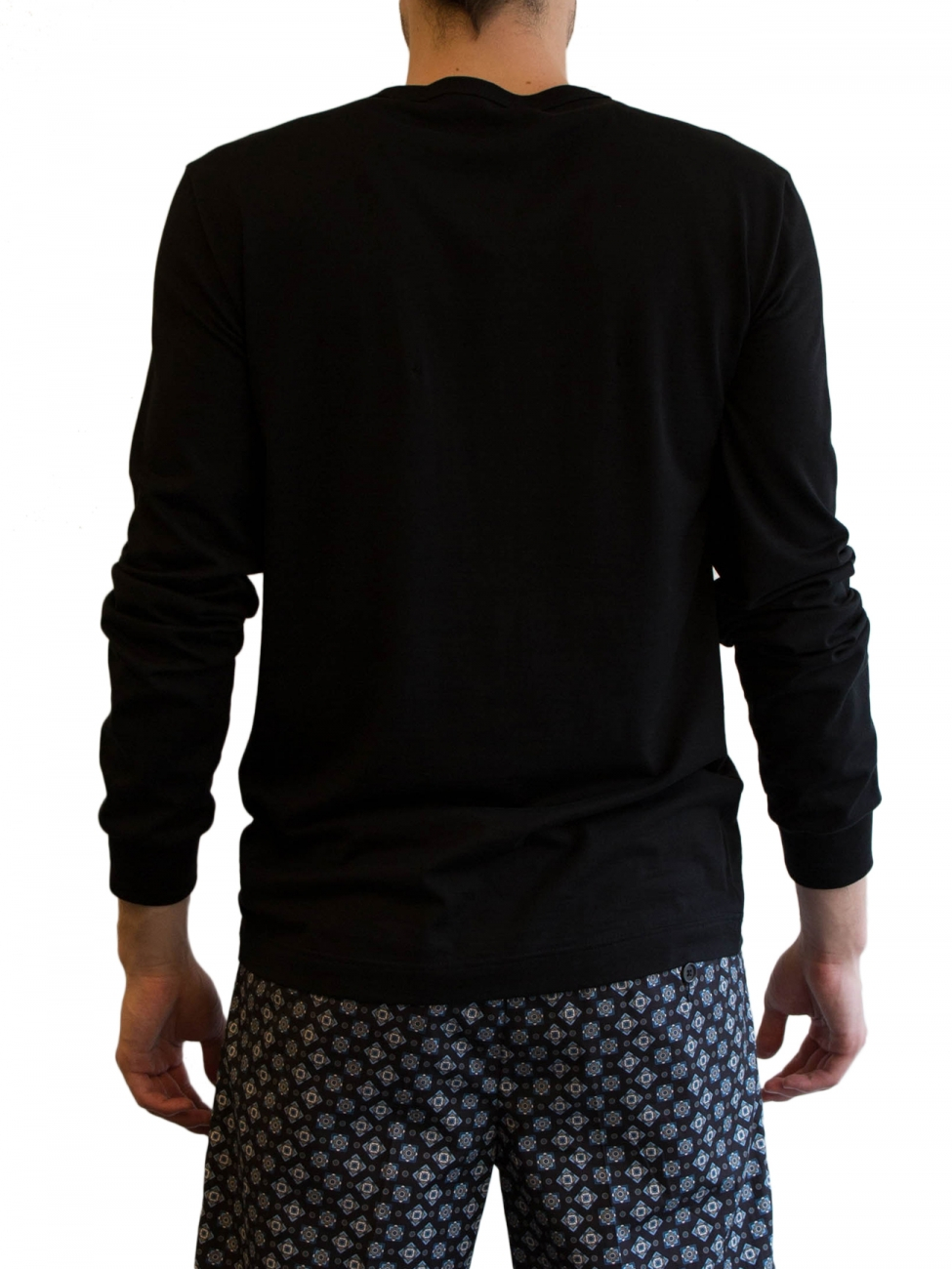 dolce gabbana black serafino t shirt in black for men lyst. Black Bedroom Furniture Sets. Home Design Ideas
