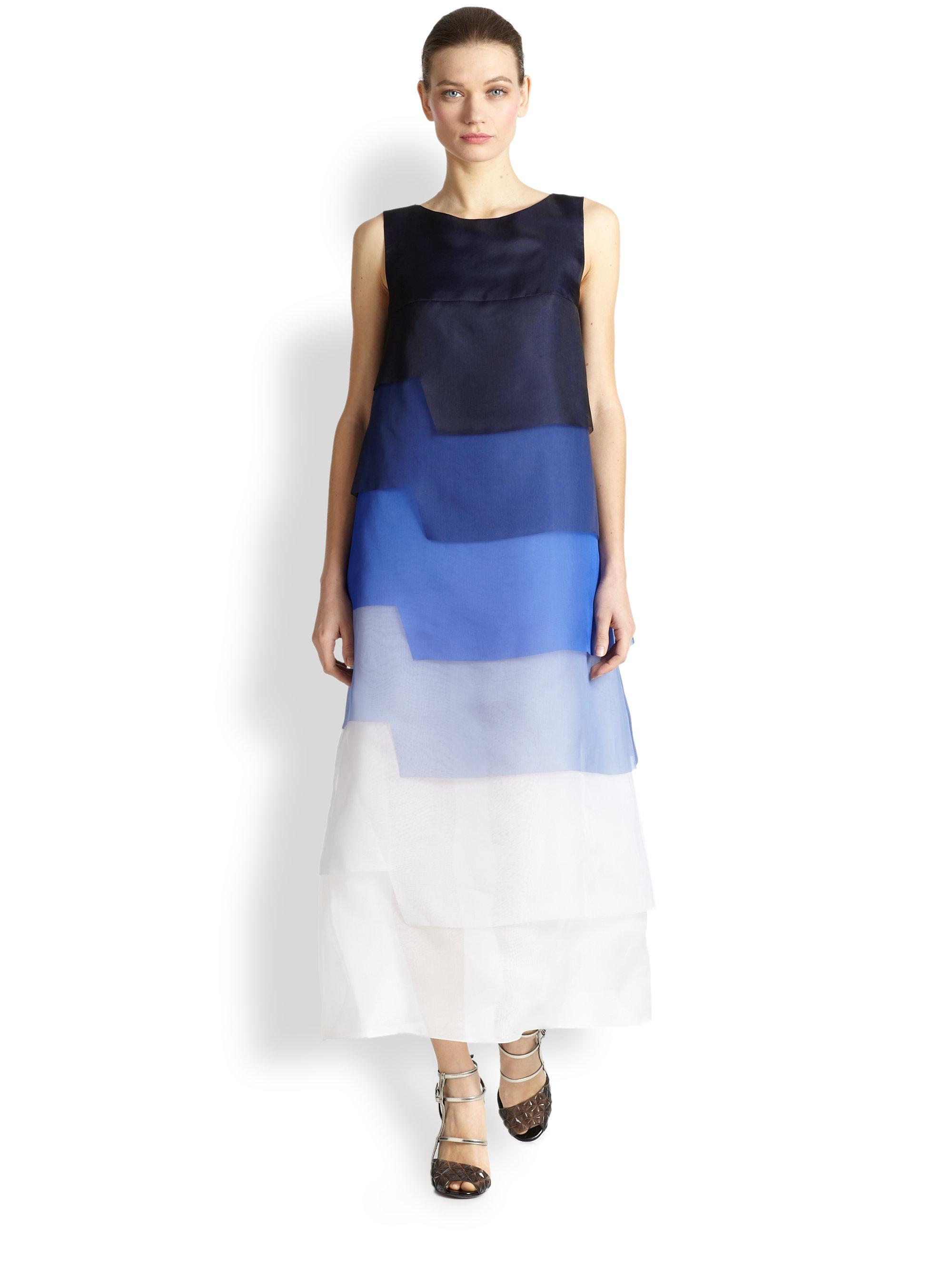 Silk Organza Dress