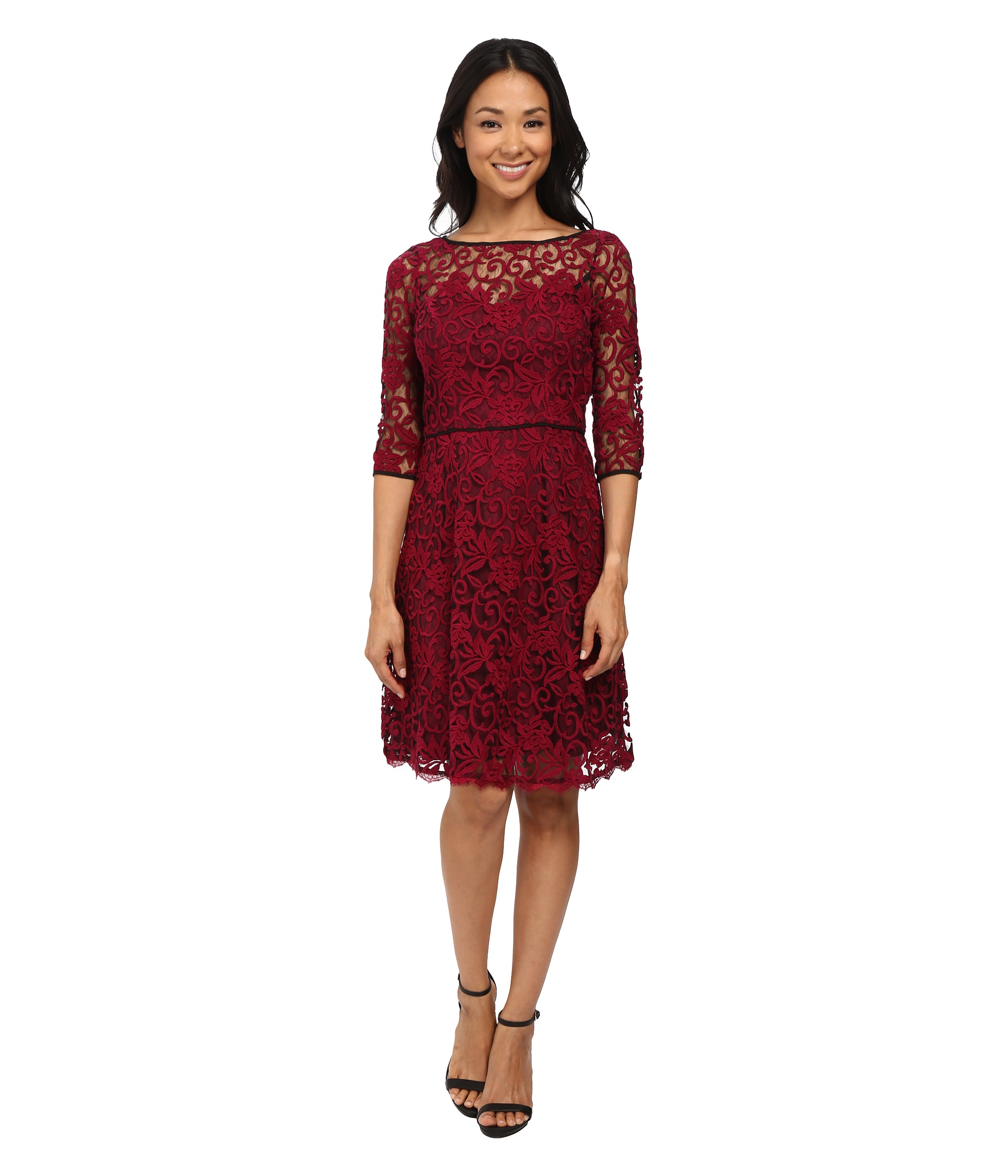 c66c12e60e Gallery. Previously sold at  Zappos · Women s Adrianna Papell Lace Dress ...