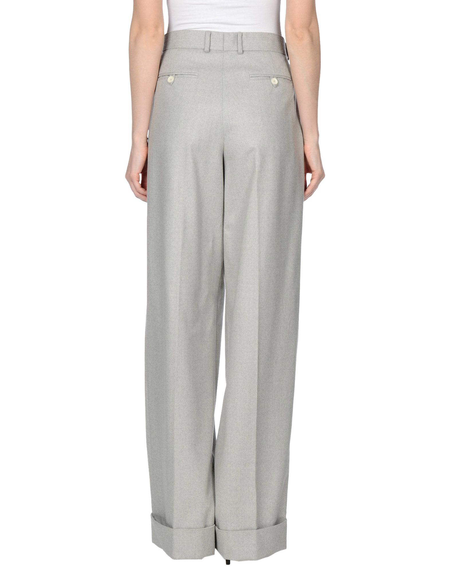 Original Trousers Pants Women Opus ELISE  Trousers  Light Grey H5FparRh