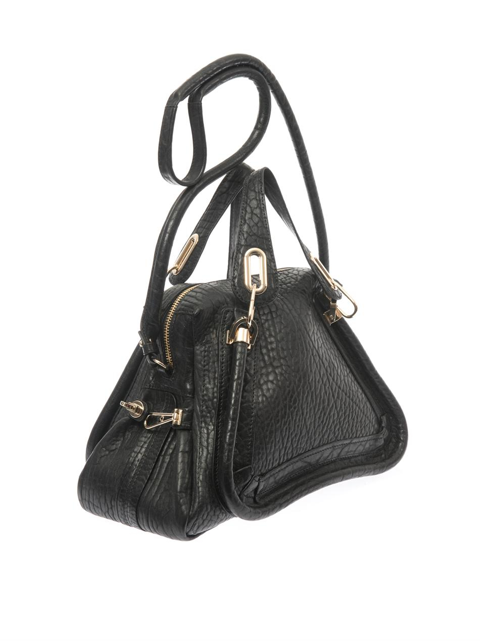 Chlo¨¦ Paraty Leather Tote in Black | Lyst