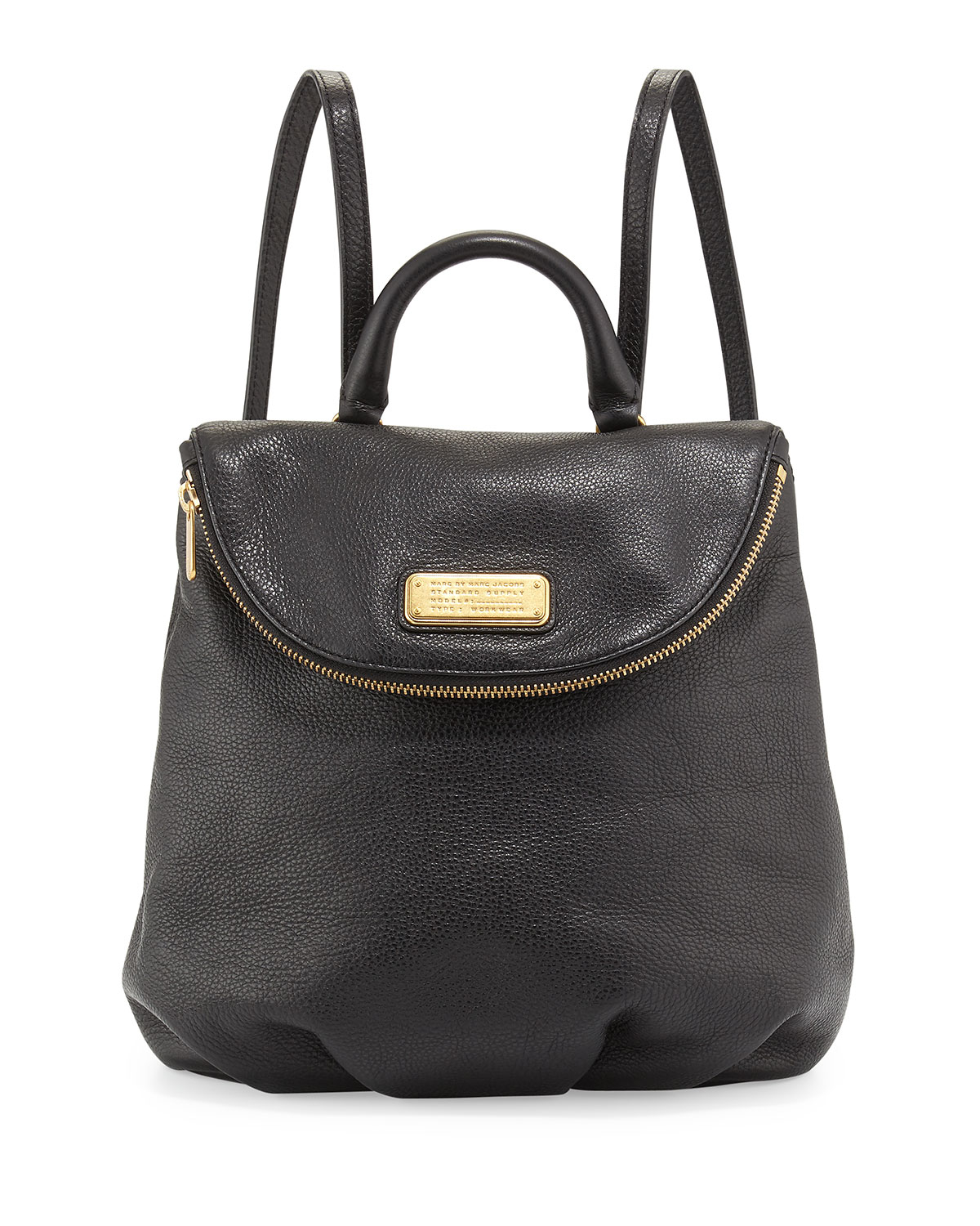 marc by marc jacobs new q mariska leather backpack in. Black Bedroom Furniture Sets. Home Design Ideas