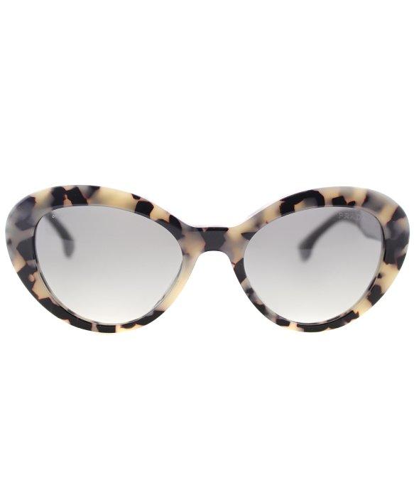 3f0b341e2e3 ... best price lyst prada pr 15qs kad3m1 white havana cat eye plastic  sunglasses 43d7b 53bcb