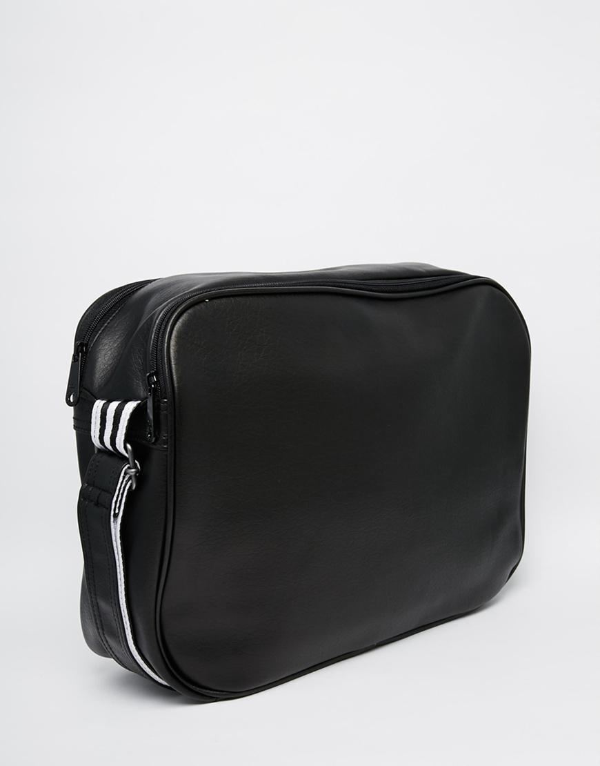 Lyst Adidas Originals Airliner Messenger Bag In Black