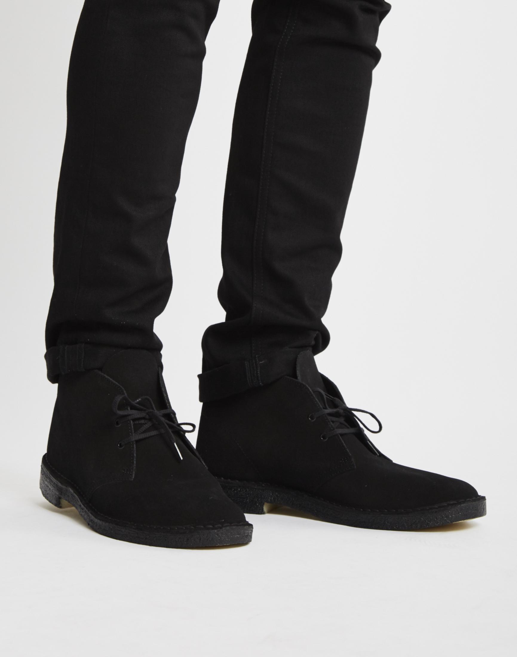 clarks s desert boots black principle systems ltd