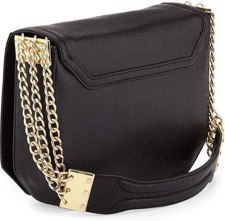 Chain Strap Shoulder Bag In Black 39