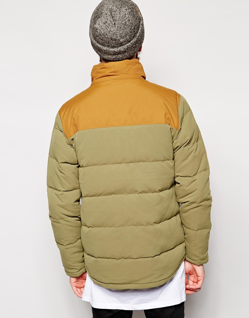 Patagonia Bivy Down Jacket In Green For Men Lyst