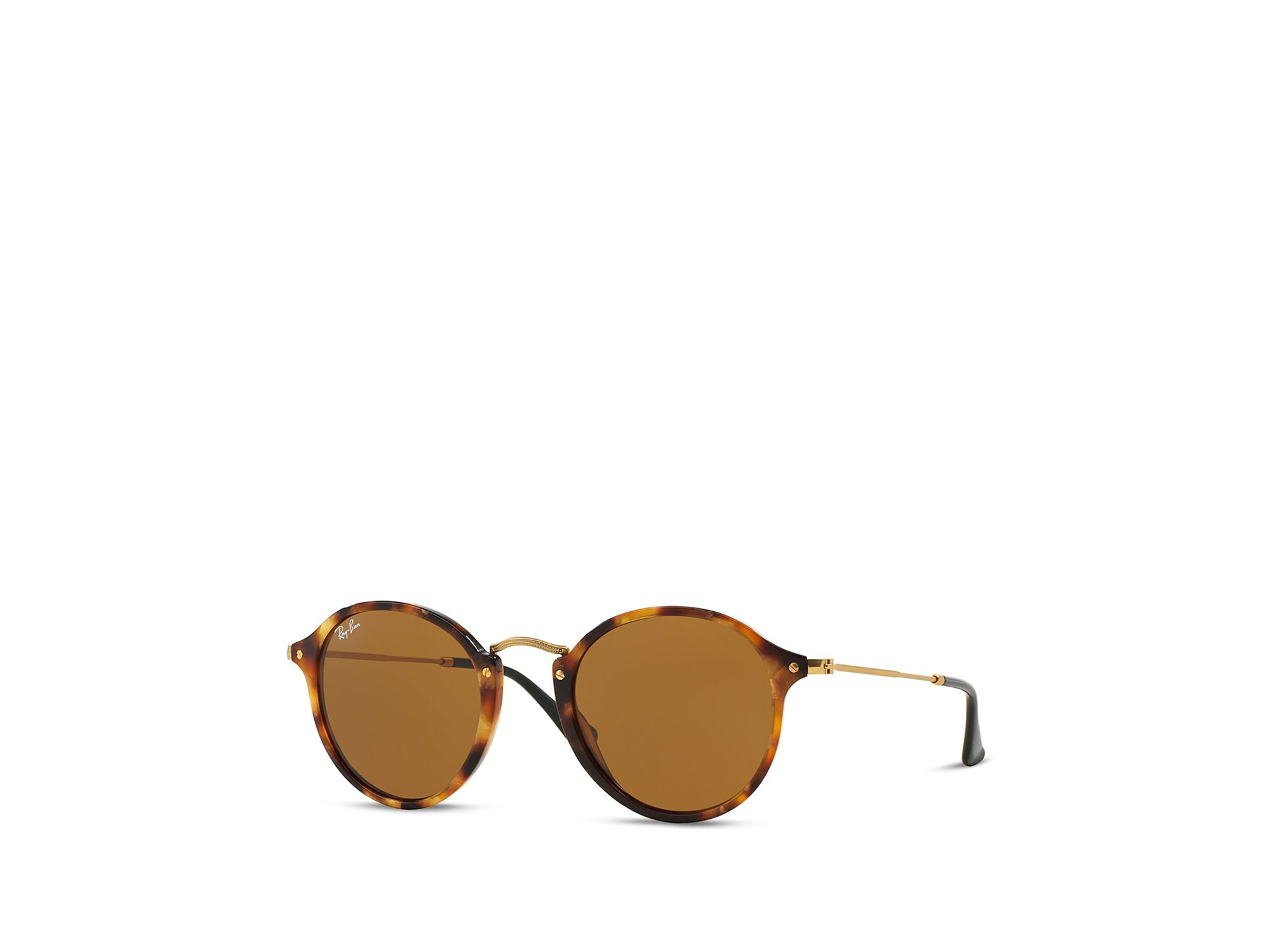 5948fe7a80 Ray-Ban Retro Round Sunglasses in Brown for Men - Lyst