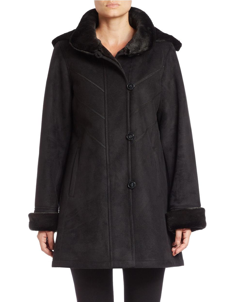 Faux Fur Coats Women's