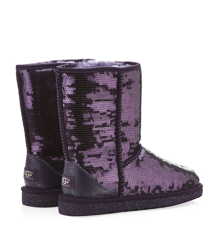 uggs purple sparkle