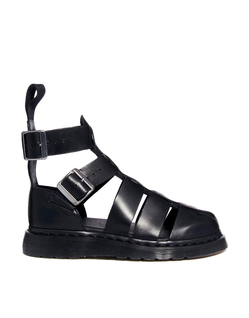 1cc55133a0 Dr. Martens Shore Reinvented Geraldo Ankle Strap Sandals in Black - Lyst