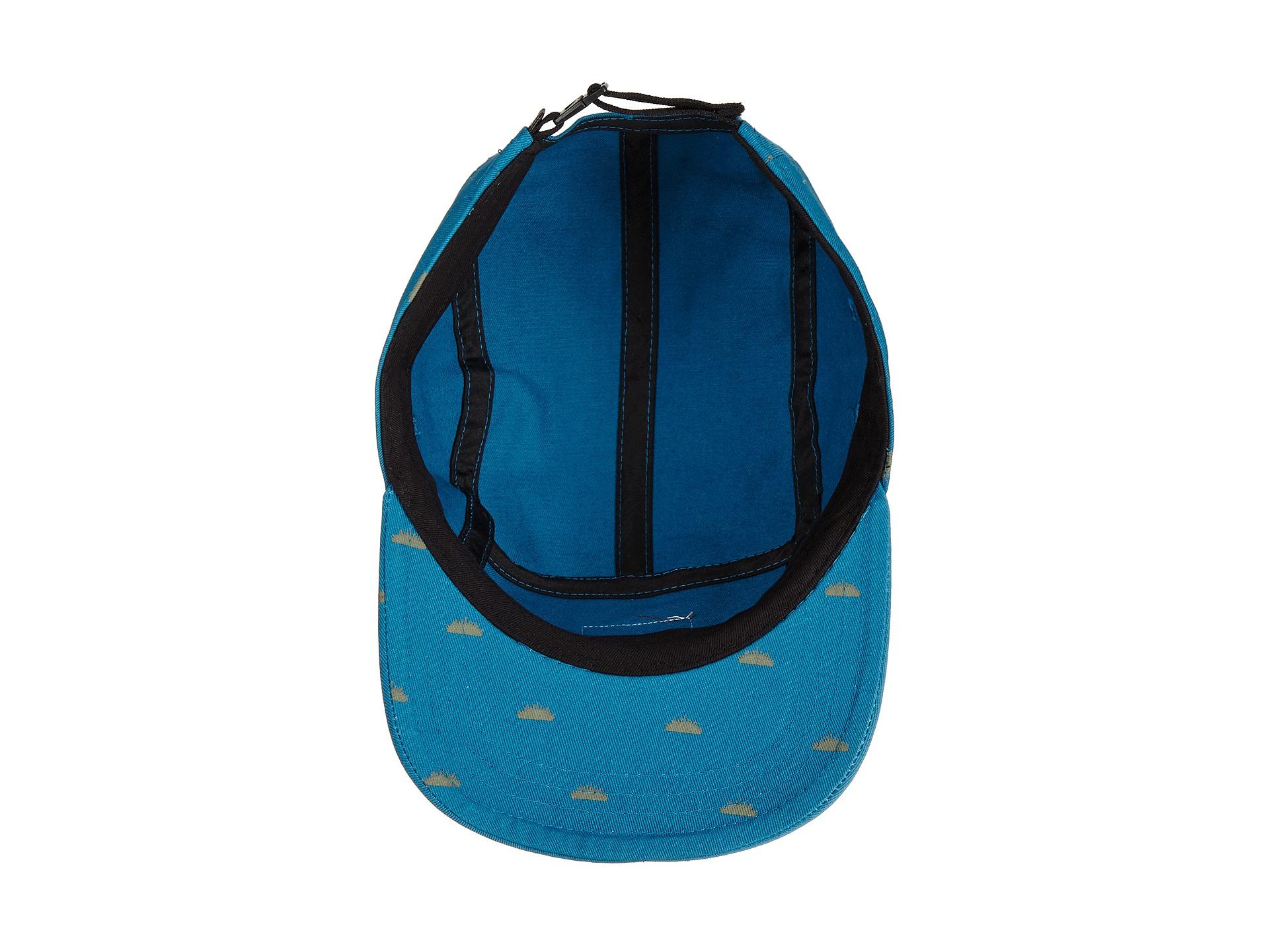 24f76f9ab4e Lyst - Vans Davis 5 Panel Camper Hat in Blue for Men