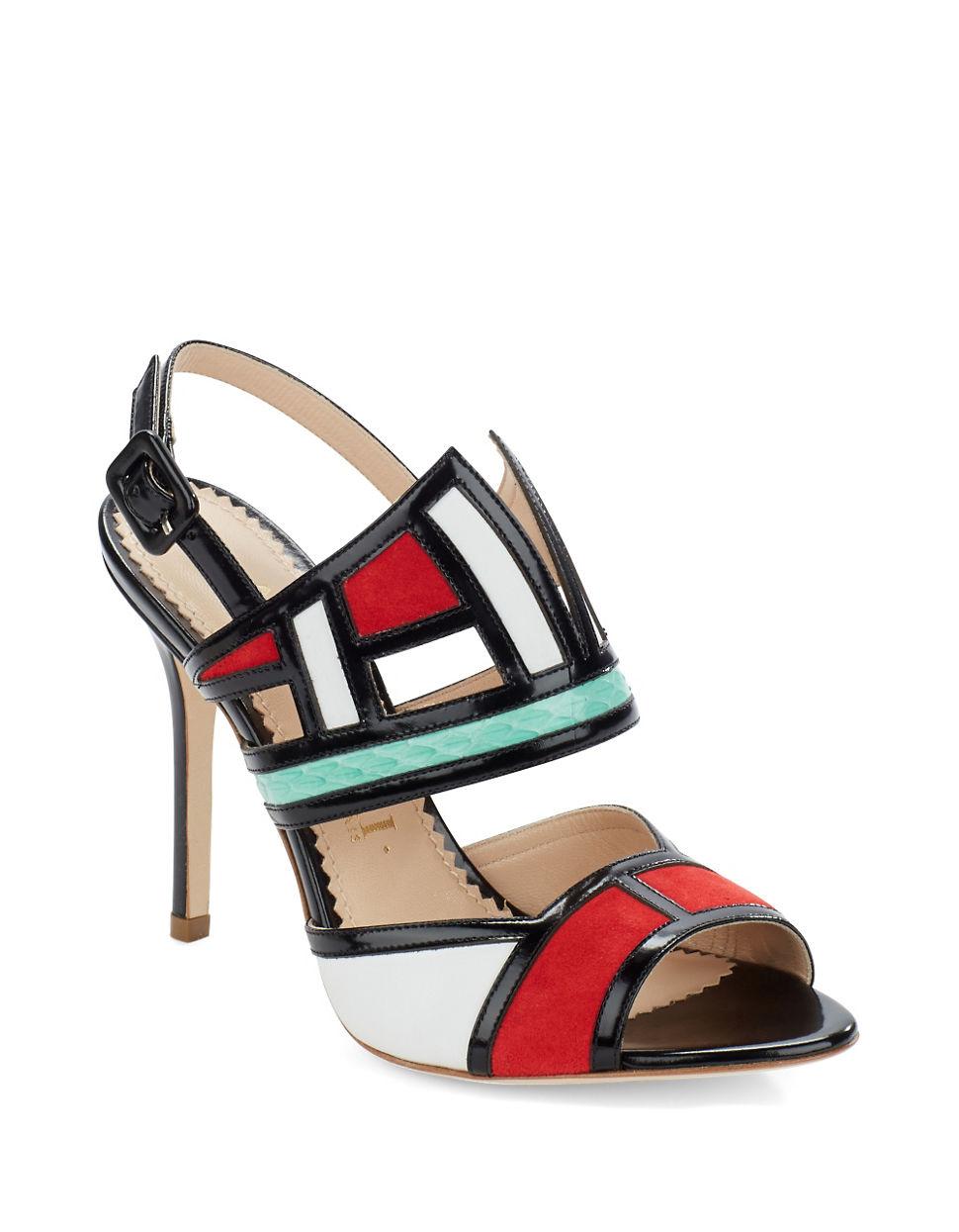 APERLAI Leather Sandals