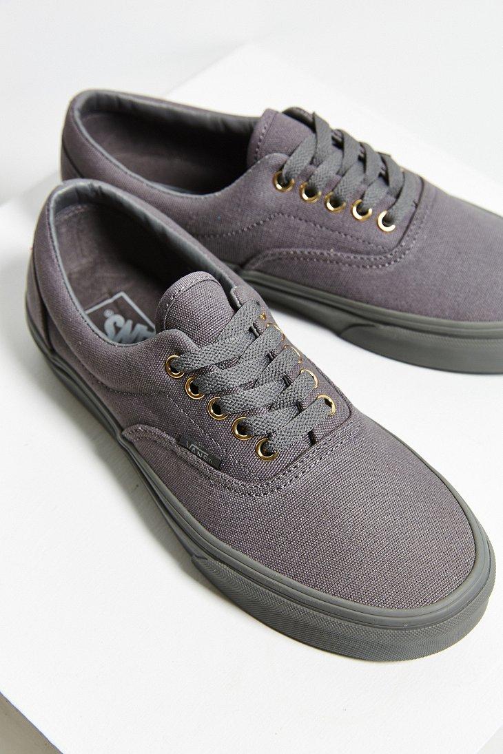 vans shoes all grey