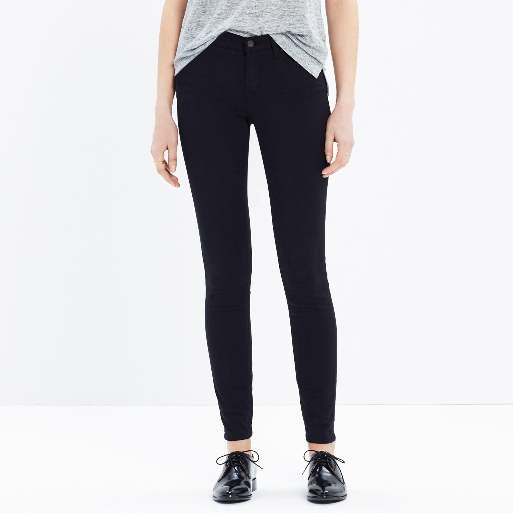 Mid-rise Skinny Jeans - Black Madewell NjA6P17D