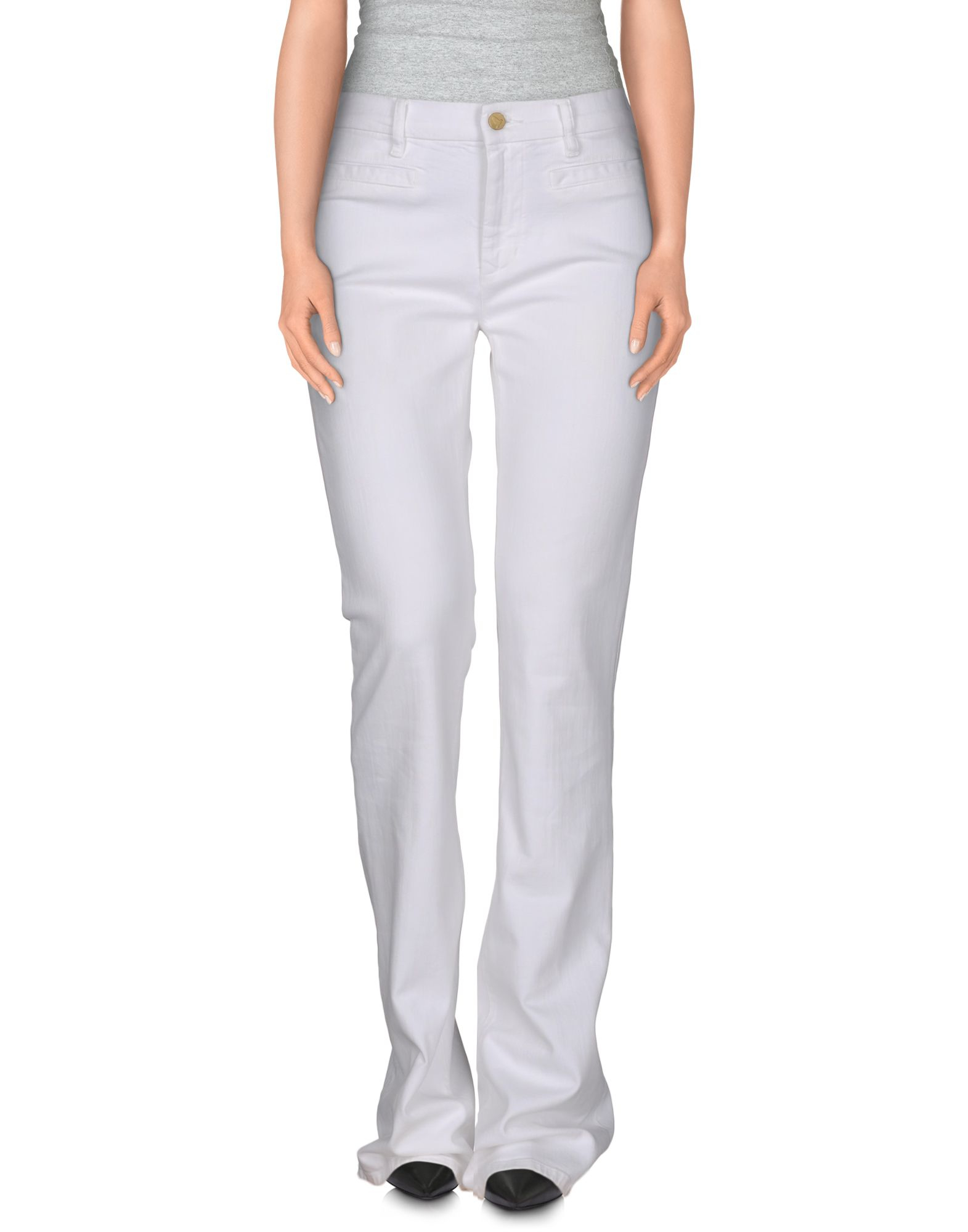 Mih jeans Denim Trousers in White
