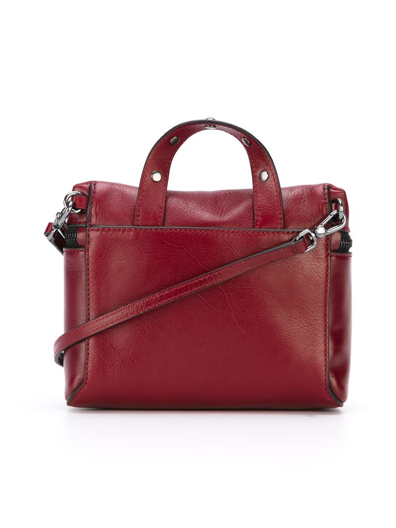 153e721477b8 Lyst - Marc By Marc Jacobs Canteen Rivets Leather Cross-Body Bag in Red