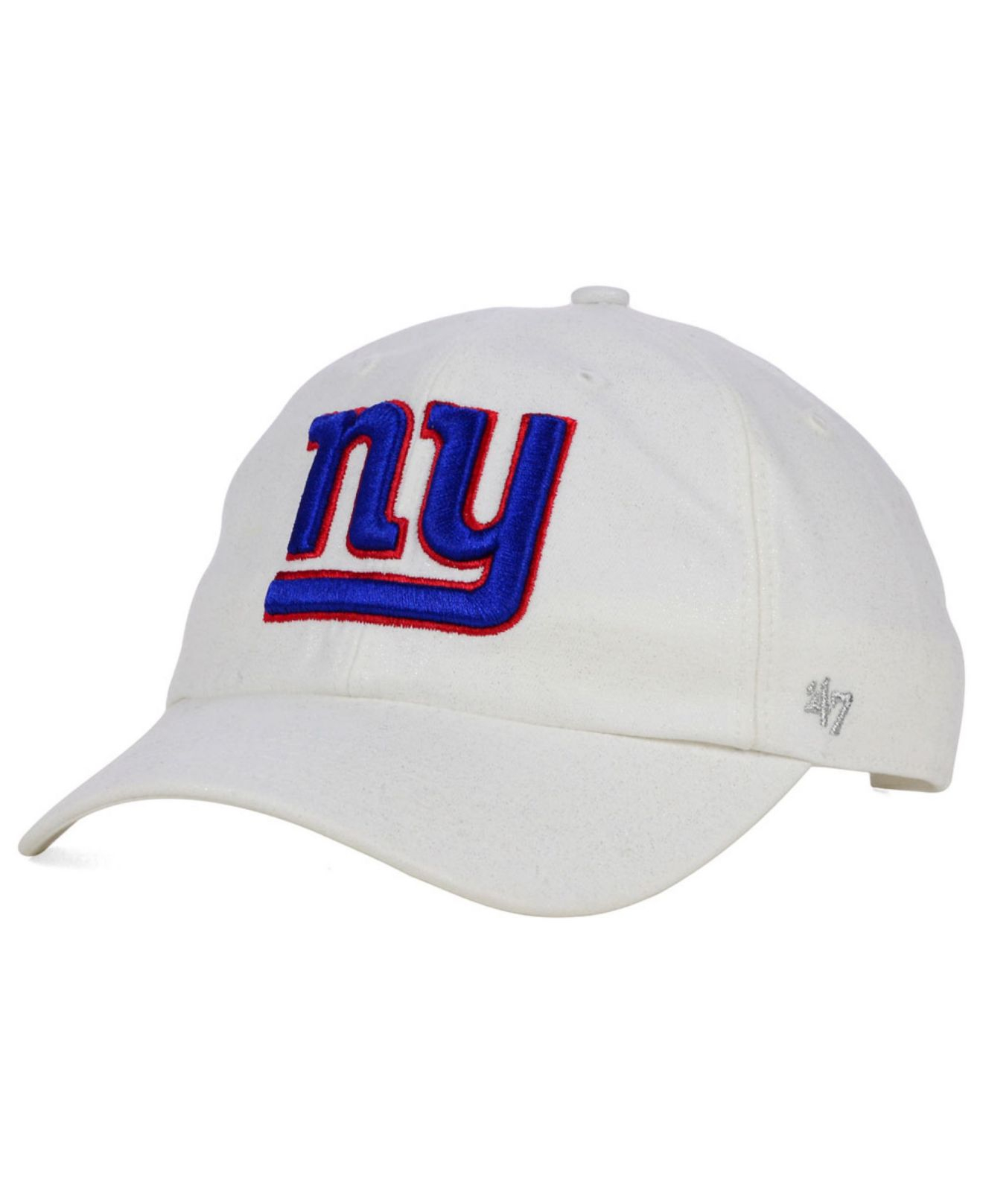purchase cheap 605a7 b1cc2 ... reduced unconstructed baseball adjustable hat team colors lyst 47 brand  womens new york giants luster clean