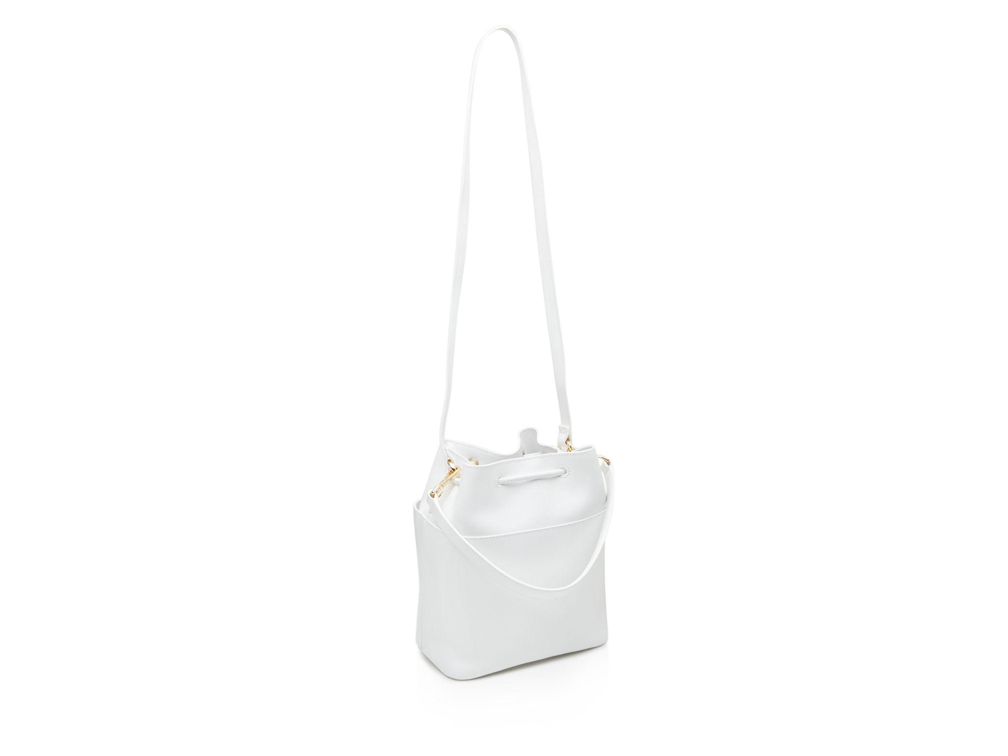 905c2d0781f38 Lyst - Ted Baker Large Adrene Metal Bar Bucket Bag in Black