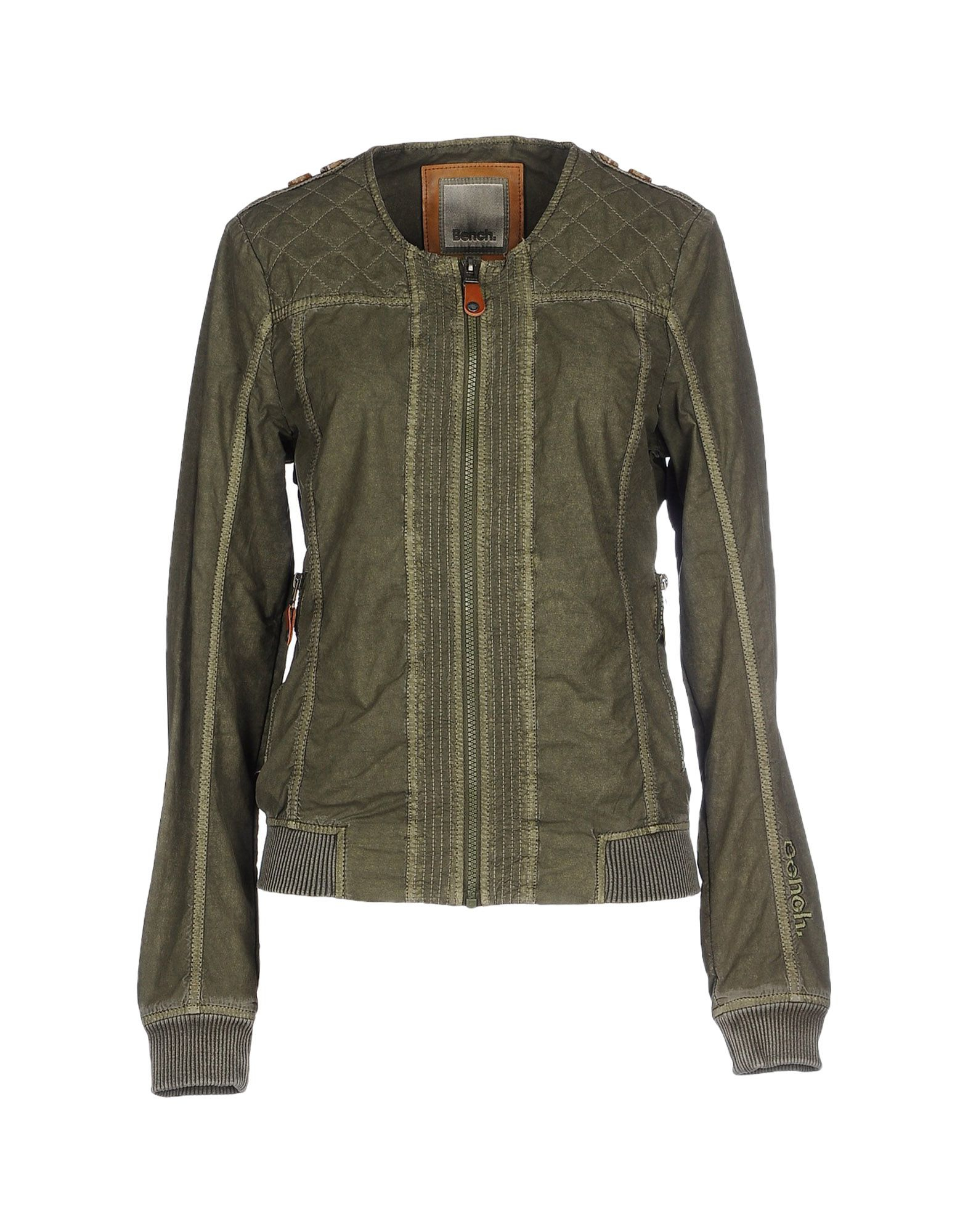 Bench jacket in green lyst Bench jacket