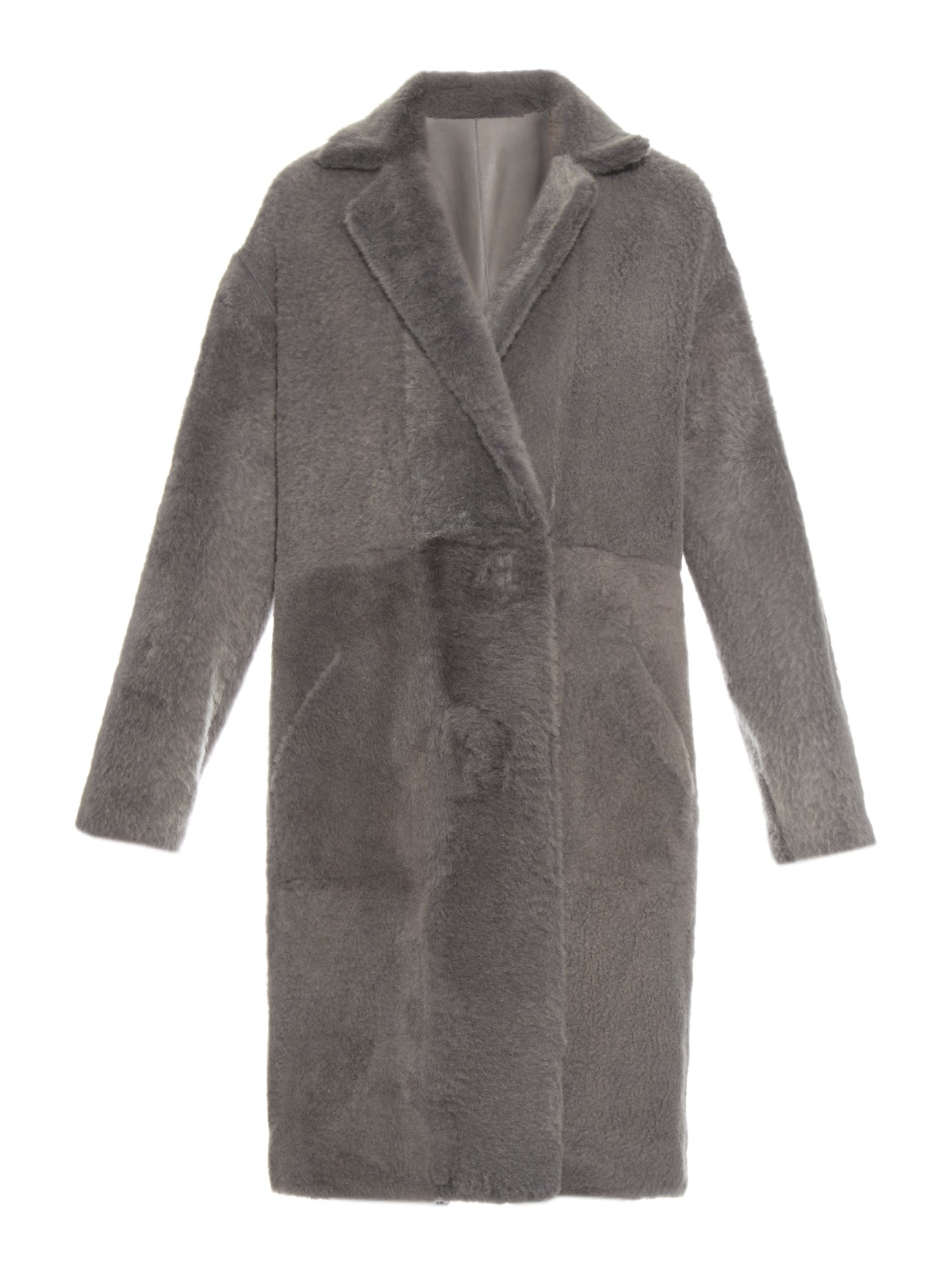 32 paradis sprung freres Reversible Zipped-sides Shearling Coat in ...