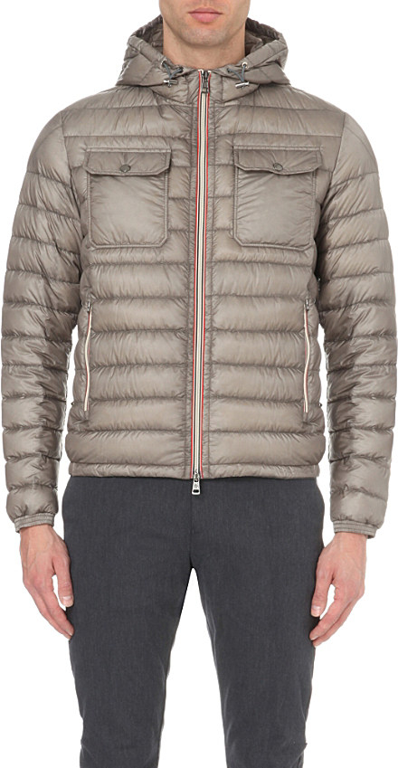 moncler douret grey jacket