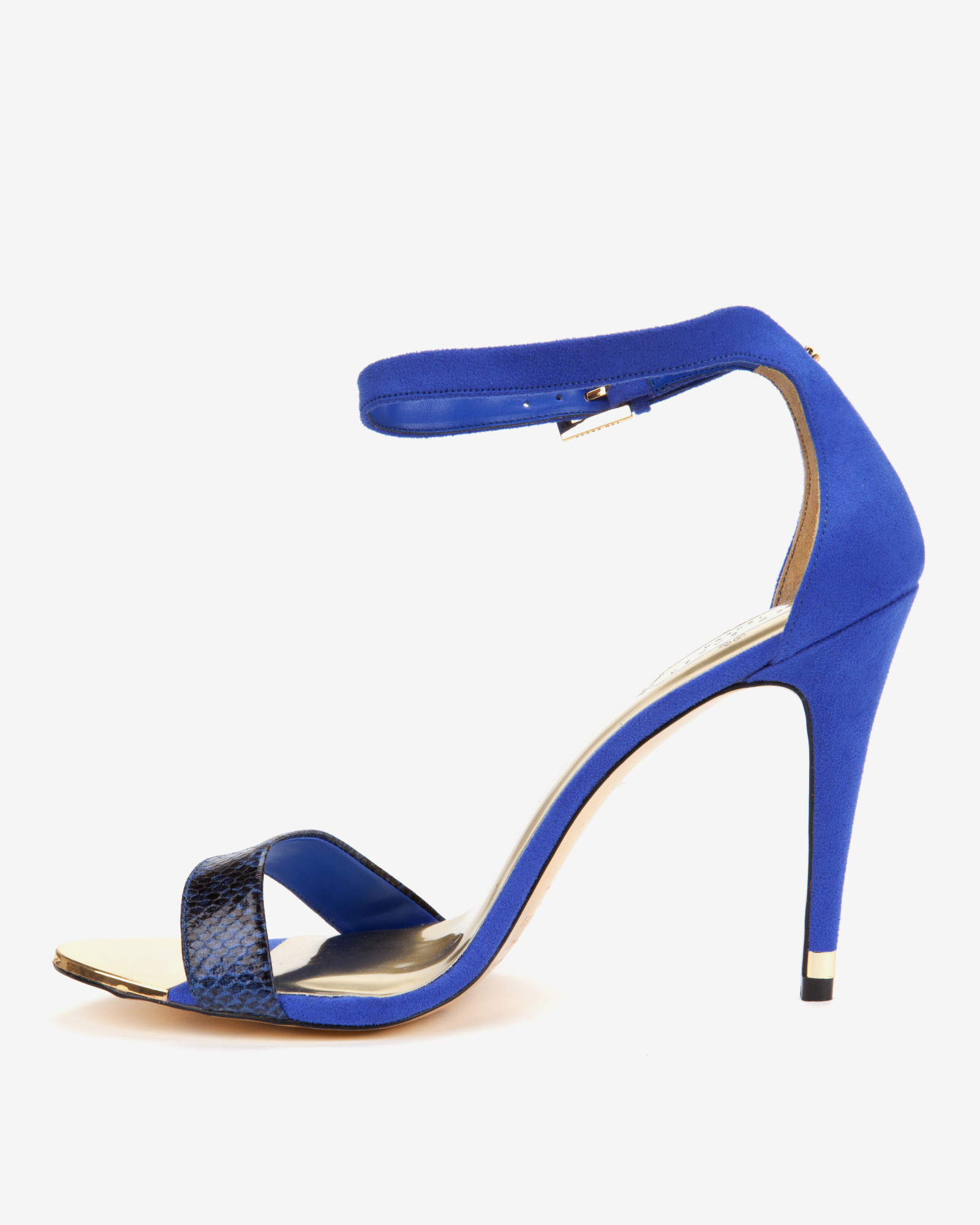 e4d6680e6e3d8 Ted Baker Ankle Strap Sandals in Blue - Lyst