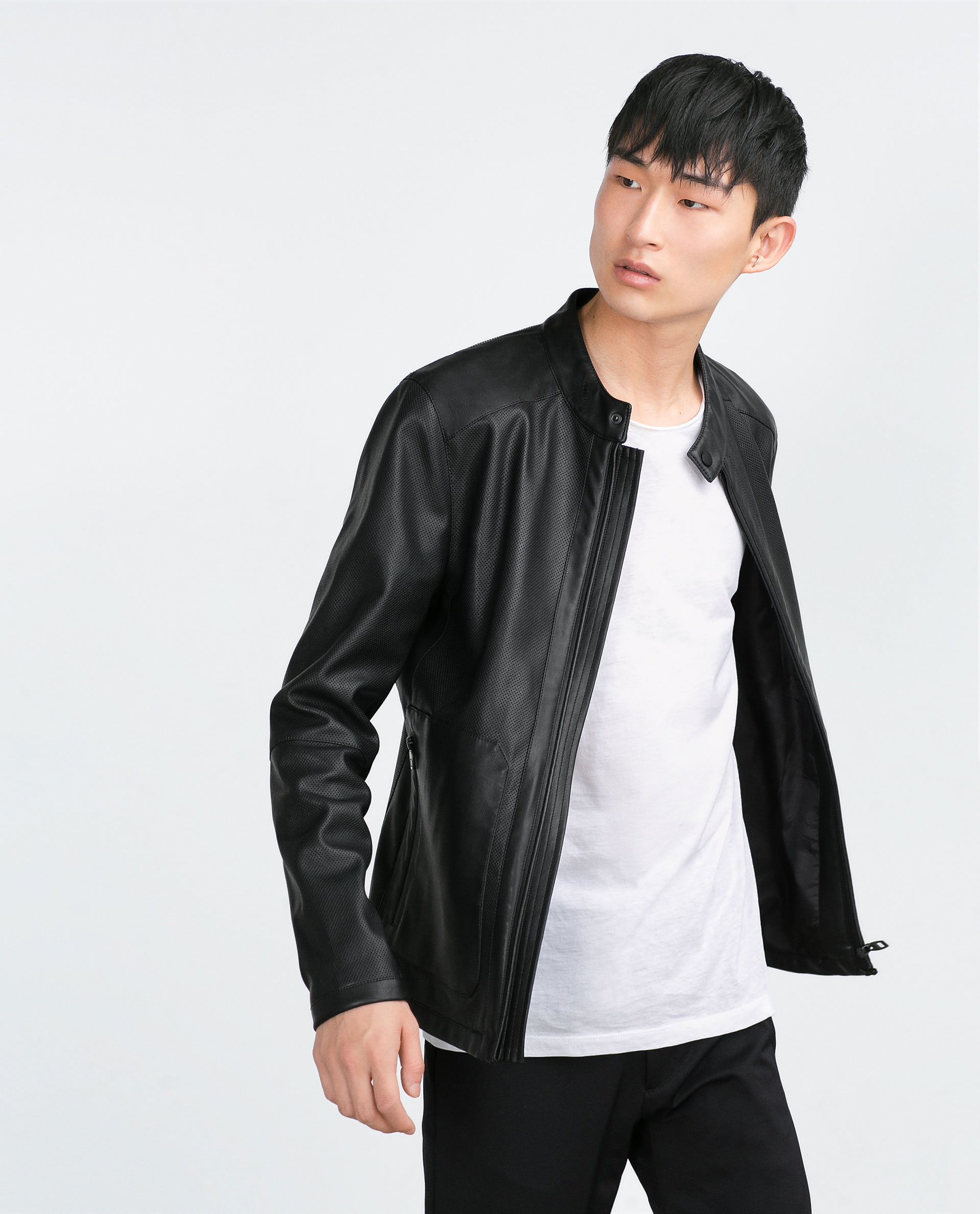 16231df3 Zara Faux Leather Jacket Mens India Cairoamani