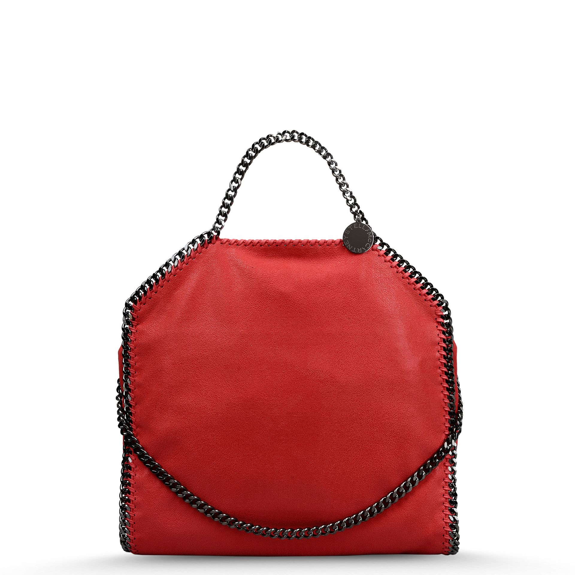 8352d4535d891 Stella McCartney Pink Falabella Shaggy Deer Fold Over Tote in Pink ...