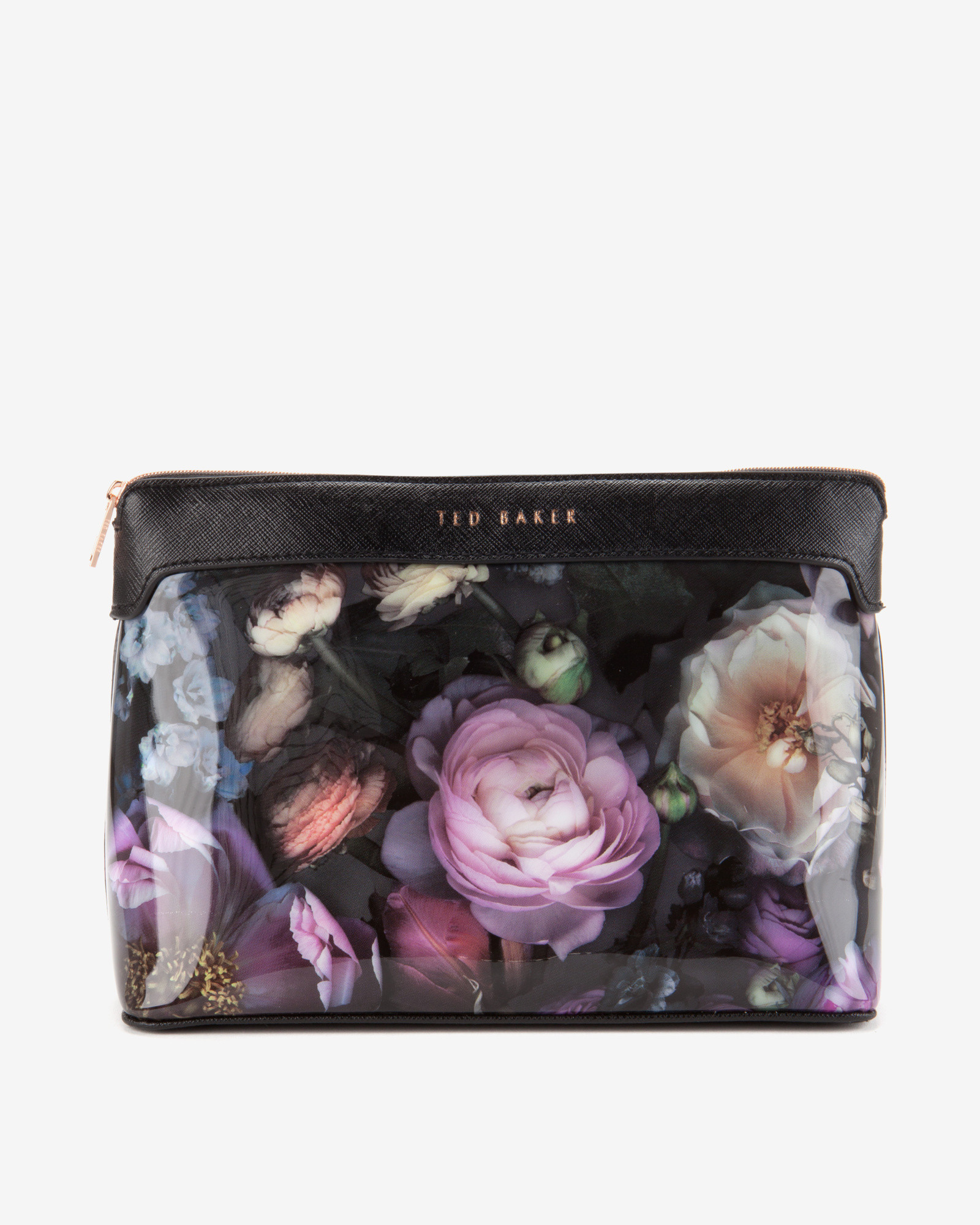 fe1372464f0 Ted Baker Shadow Floral Large Wash Bag in Gray for Men - Lyst
