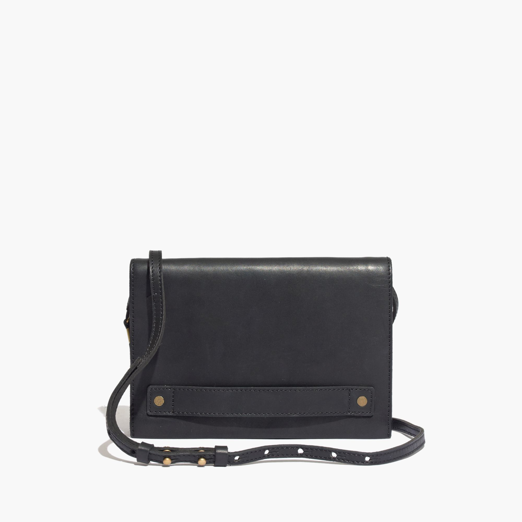madewell the crossbody bag in black lyst